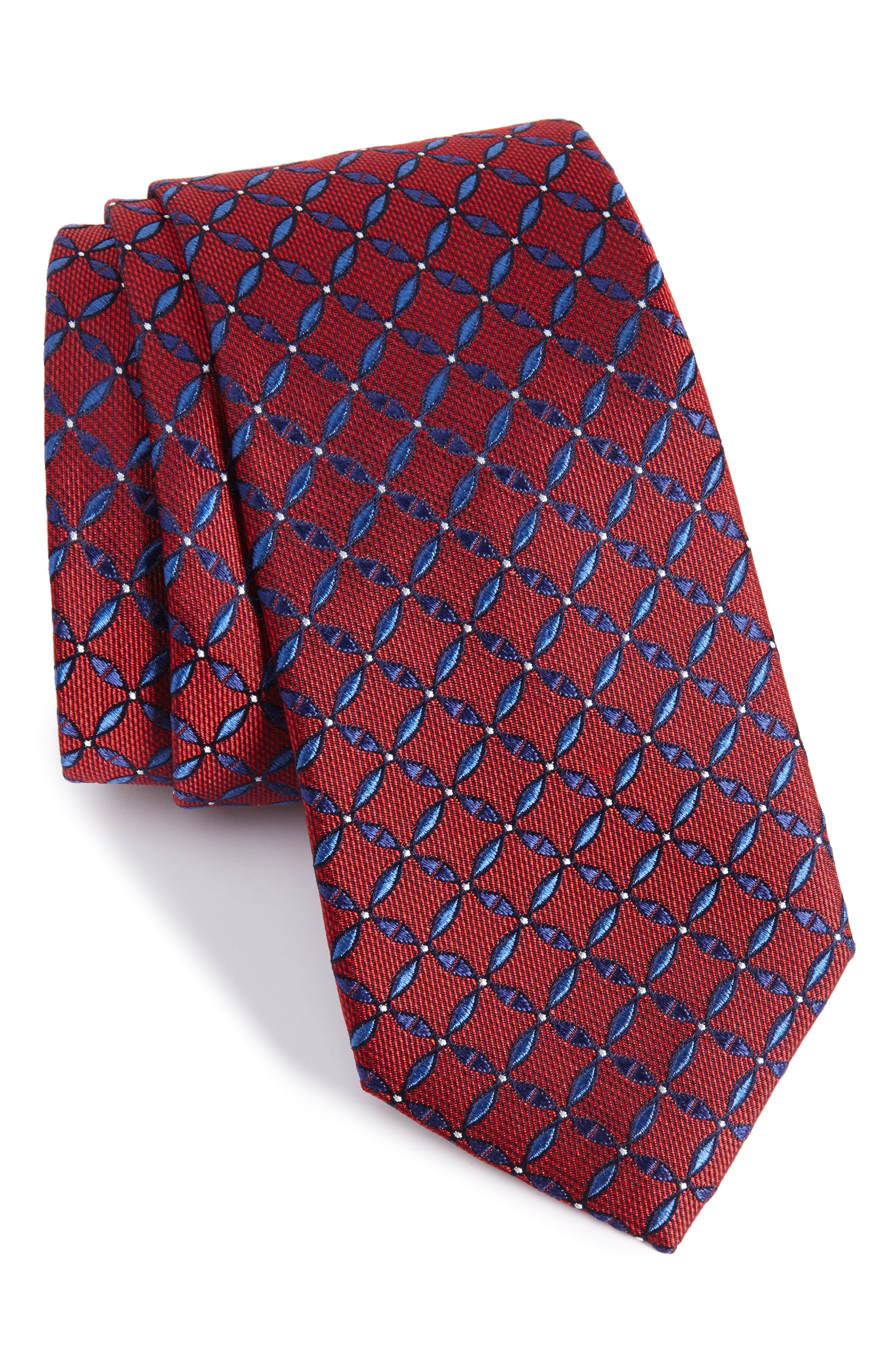 Main Image - Calibrate Geometric Silk Tie
