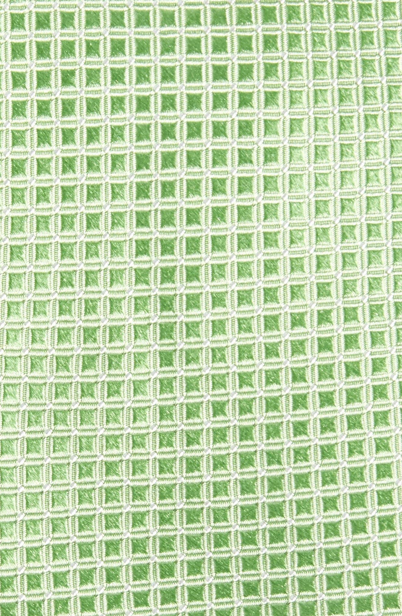 Alternate Image 2  - Nordstrom Men's Shop Geometric Silk Tie
