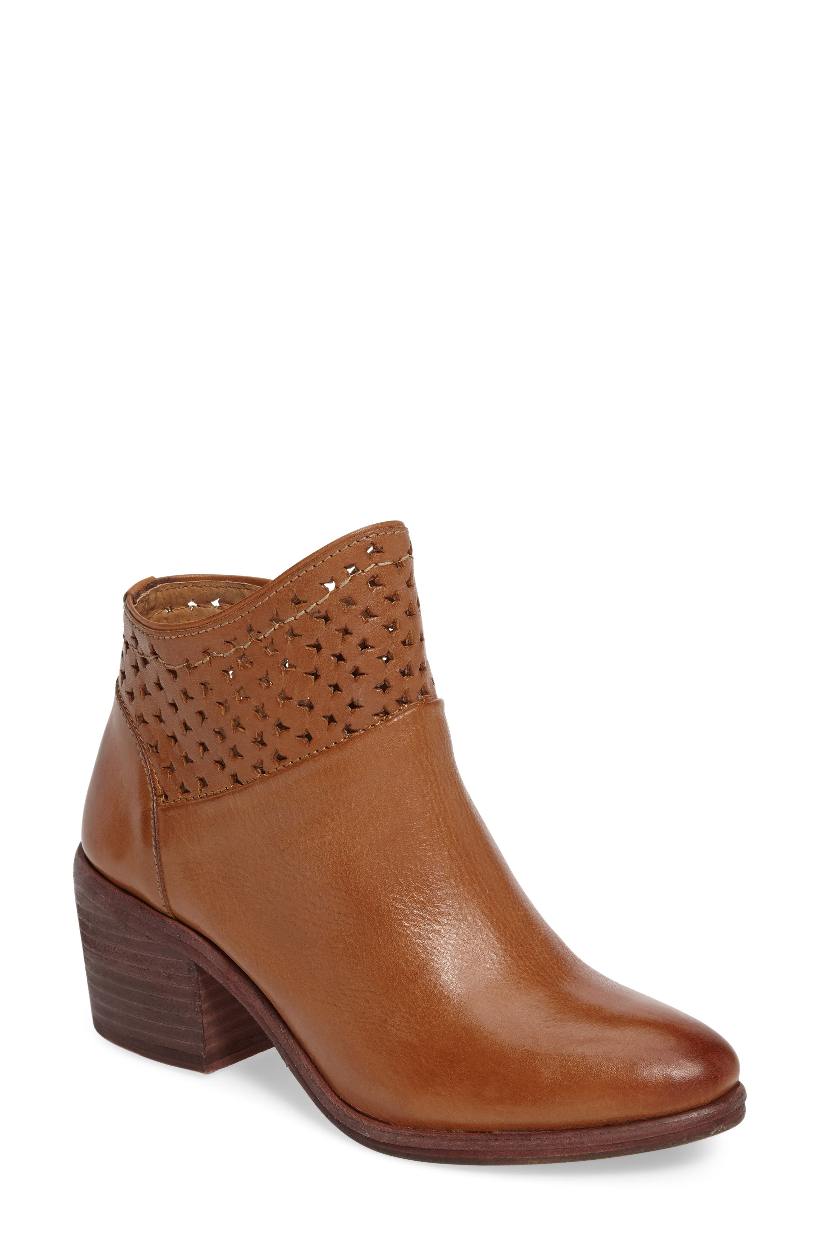 Kelsi Dagger Brooklyn Glenwood Perforated Bootie (Women)