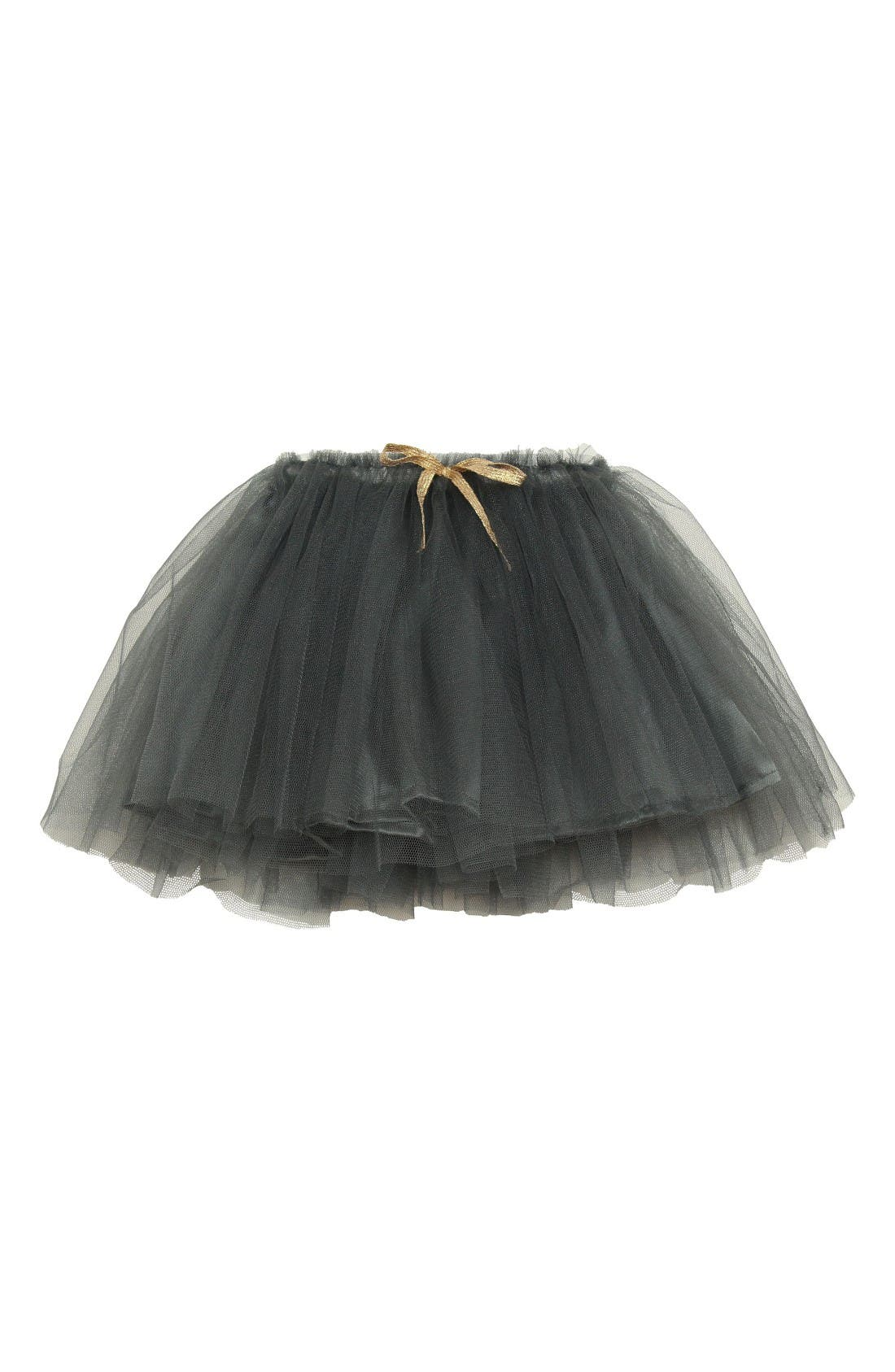 Tutu Skirt,                         Main,                         color, Dark Grey