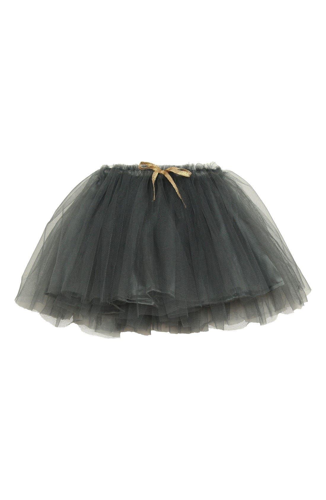 Tutu Skirt,                         Main,                         color, Dark Grey
