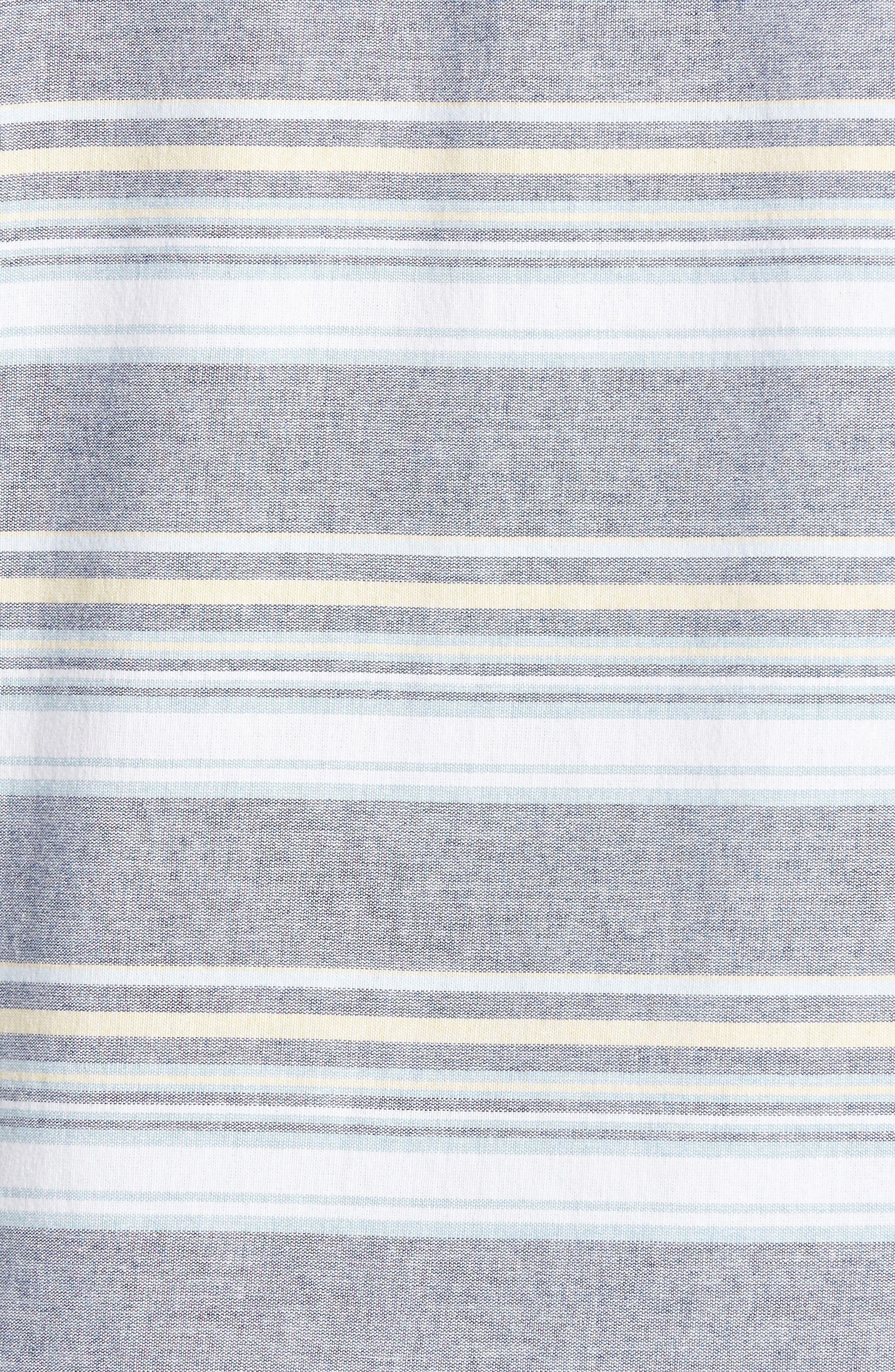 Pura Vida Sport Shirt,                             Alternate thumbnail 5, color,                             Navy