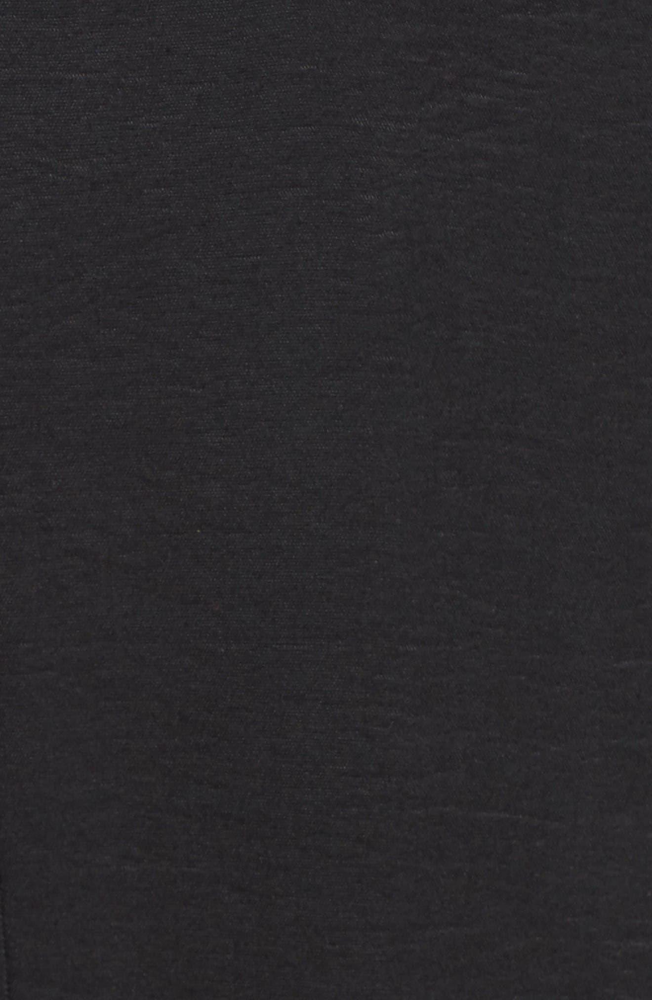 Alternate Image 5  - Sejour Long Open Front Trench Coat (Plus Size)