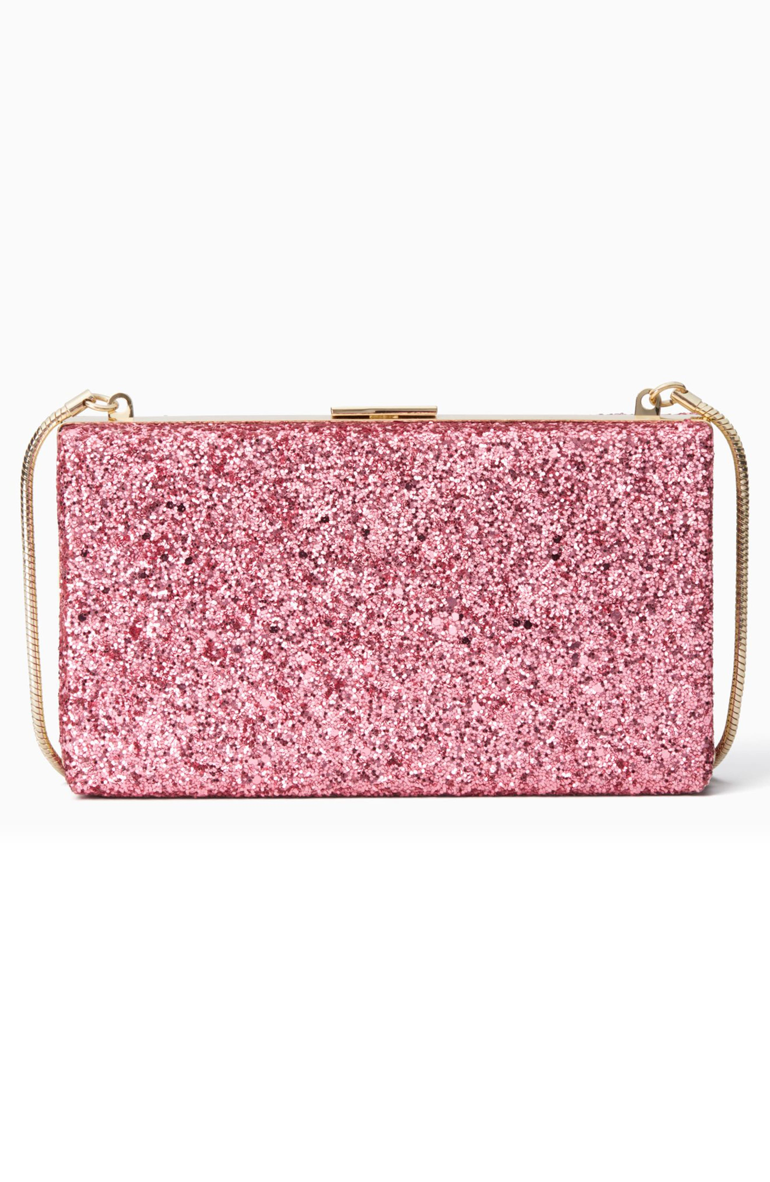 Alternate Image 2  - kate spade new york who moi? glitter clutch