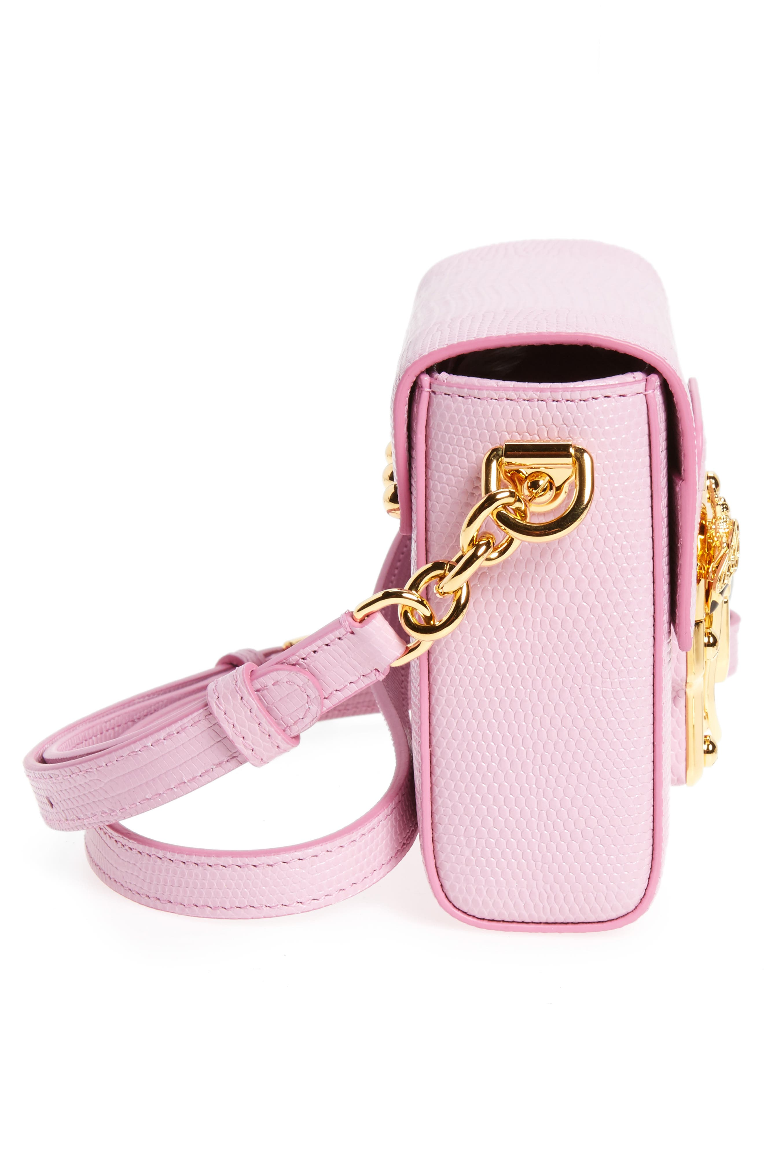 Alternate Image 4  - Dolce&Gabbana Mini Luccia Crossbody Bag