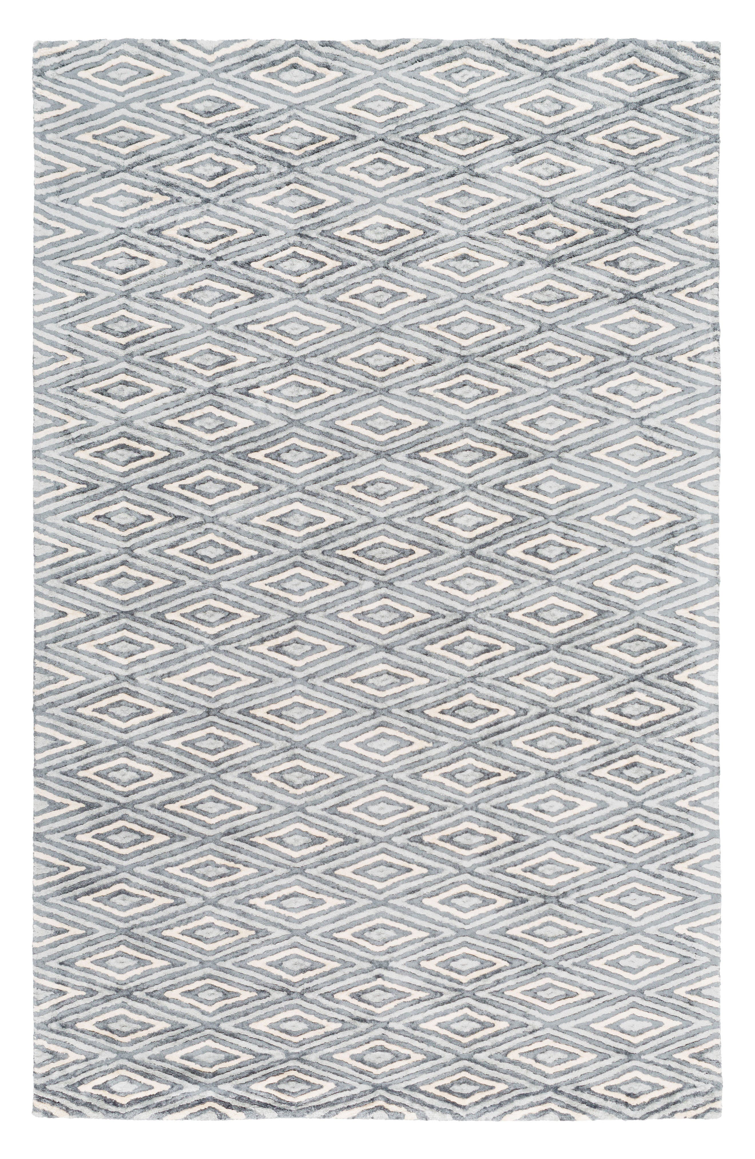Zira Rug,                             Main thumbnail 1, color,                             Grey