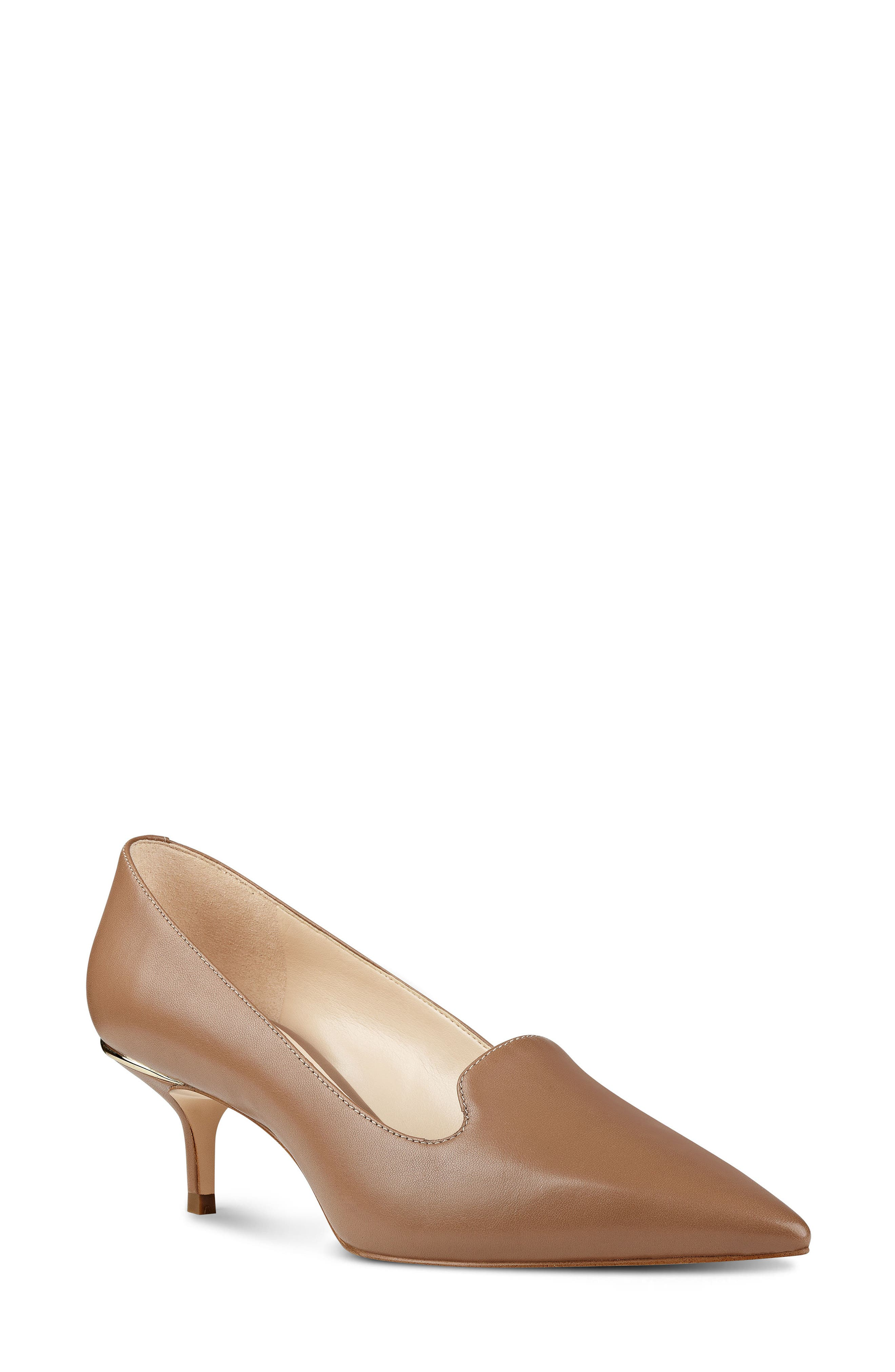 Alternate Image 1 Selected - Nine West Freddee Loafer Pump (Women)