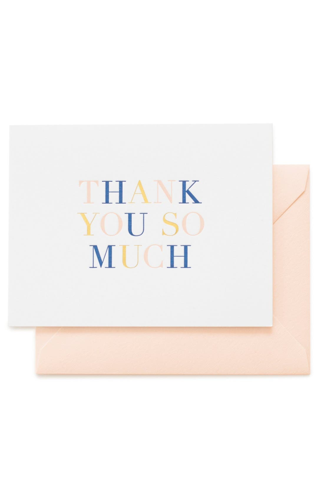 Alternate Image 1 Selected - sugar paper Thank You So Much Card Set