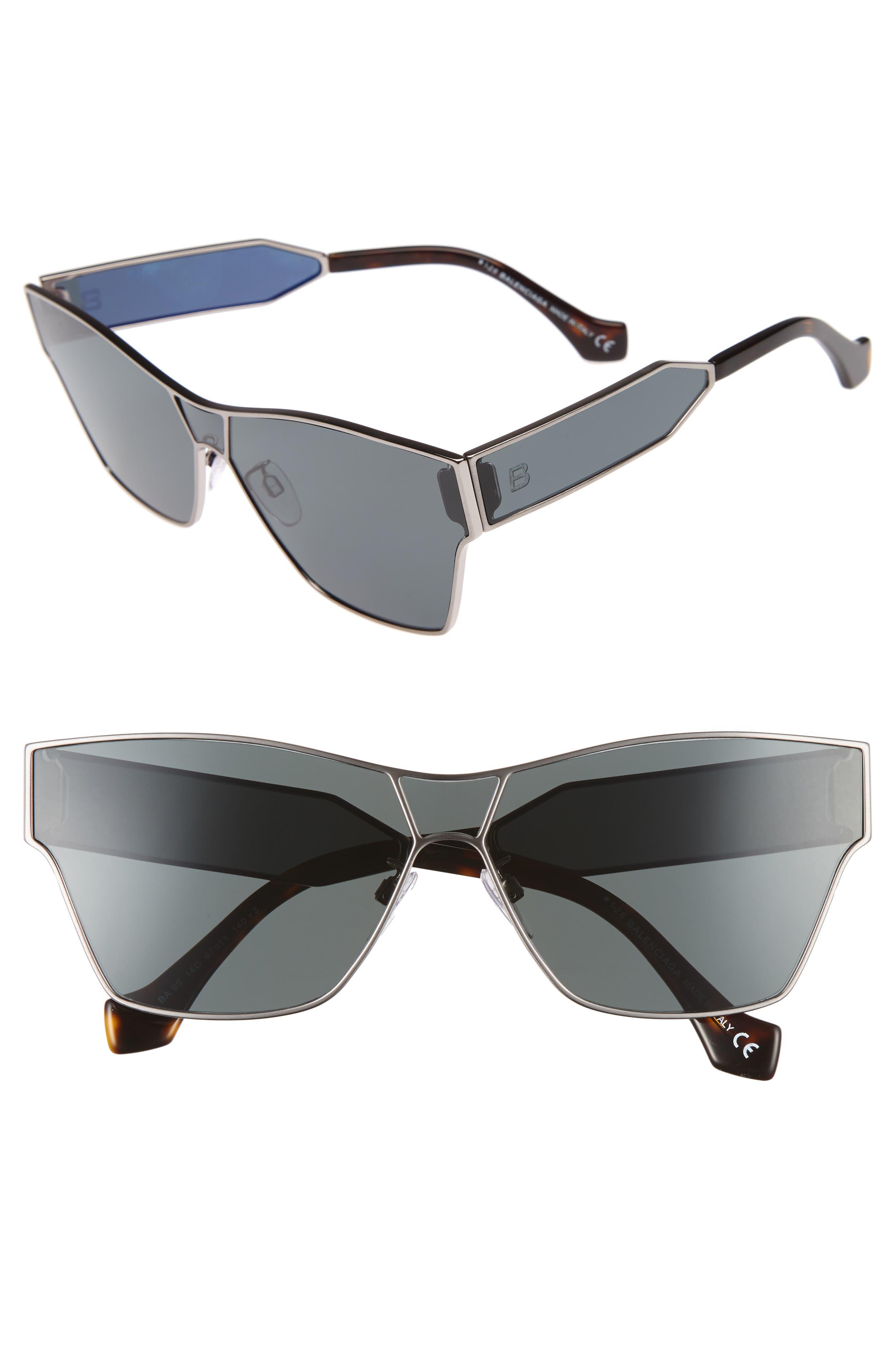 Alternate Image 1 Selected - Balenciaga 67mm Sunglasses