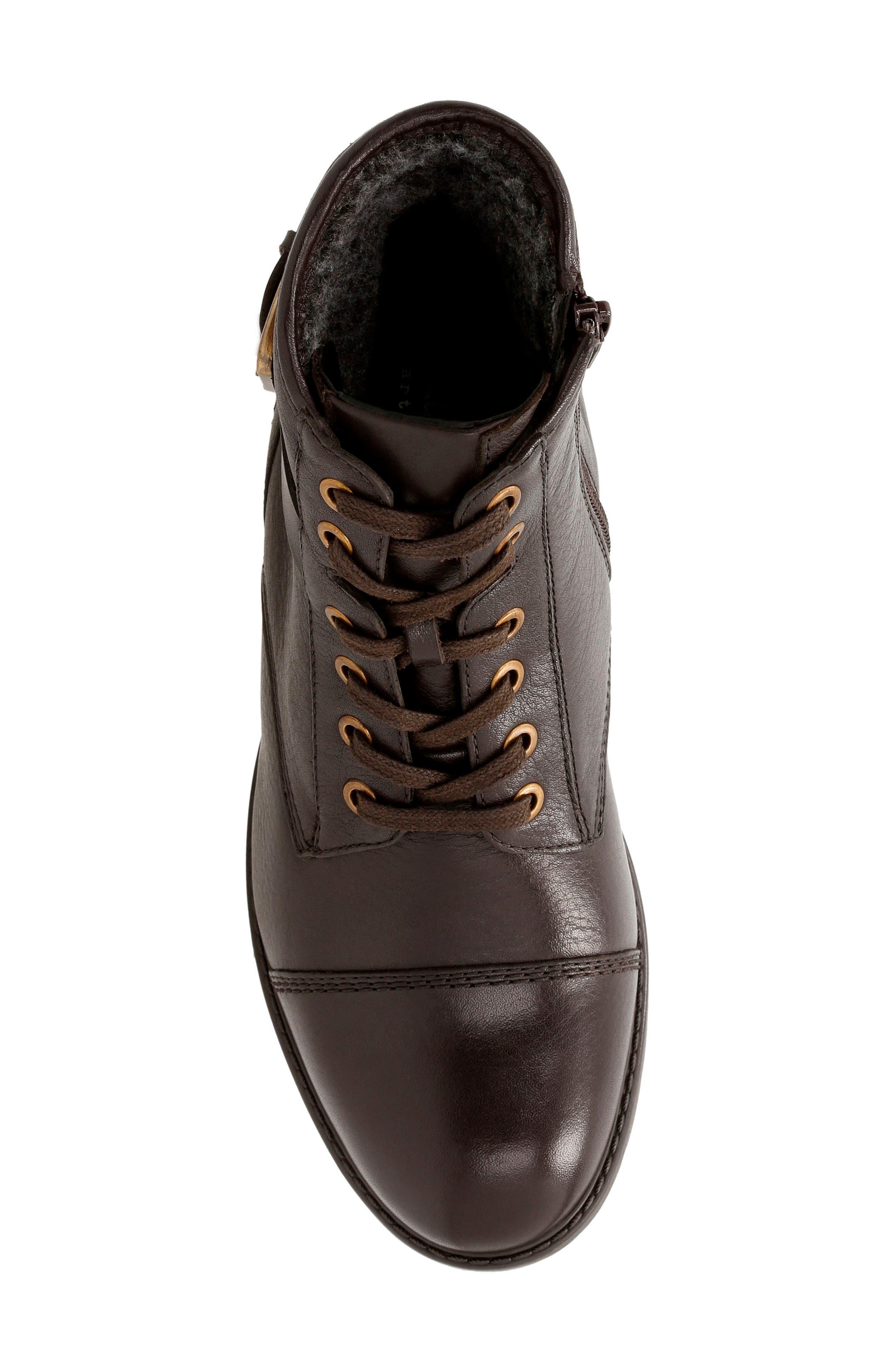 Alternate Image 4  - Clarks® 'Swansea Ledge' Waterproof Moto Boot (Women)