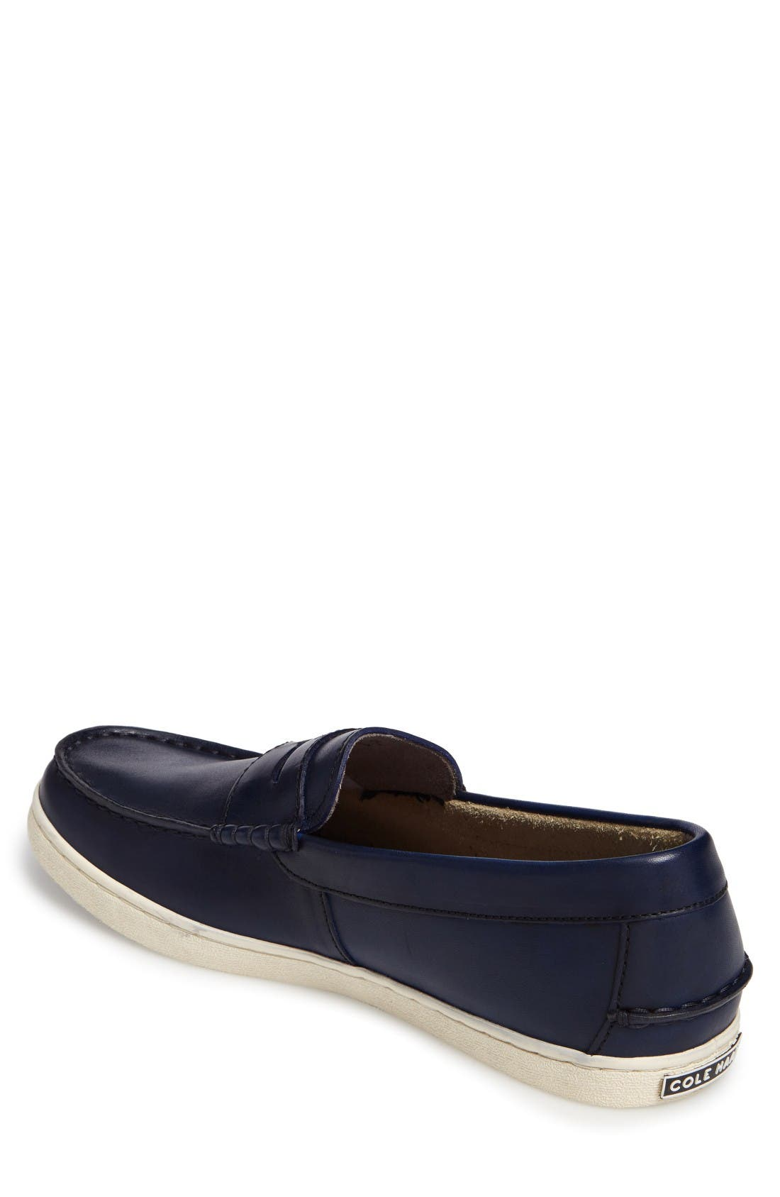 Pinch Penny Loafer,                             Alternate thumbnail 2, color,                             Blazer Blue Leather