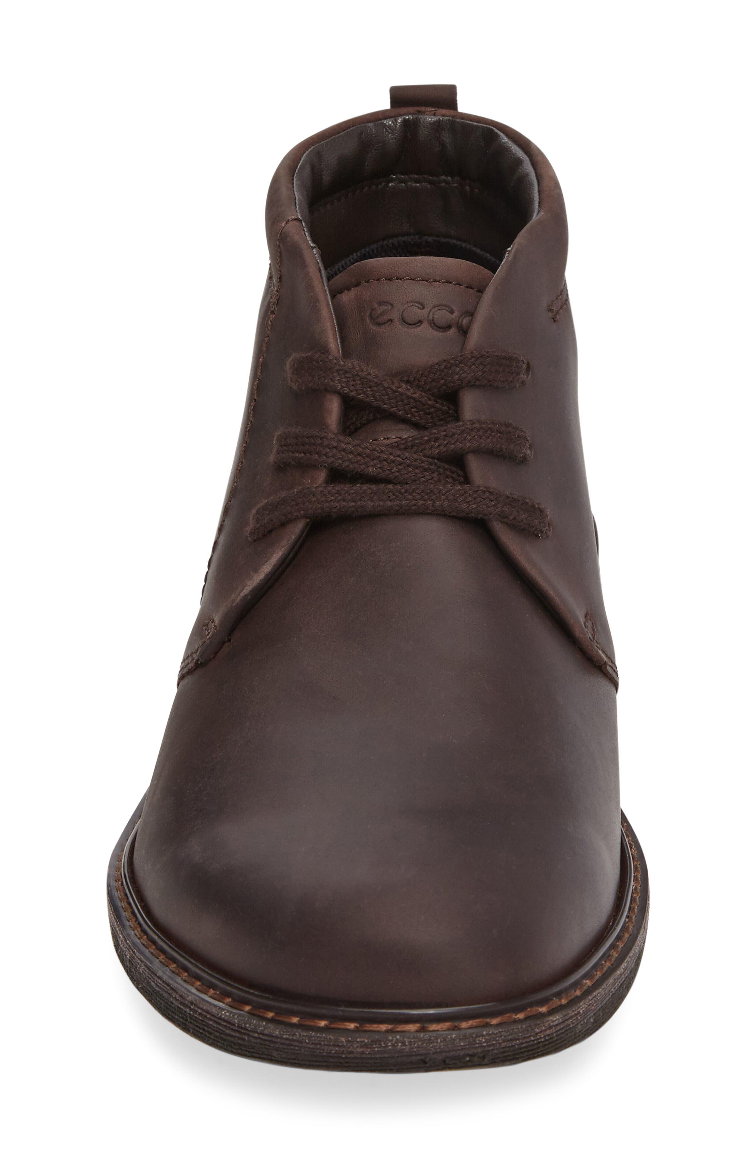 Turn Gore-Tex<sup>®</sup> Waterproof Chukka Boot,                             Alternate thumbnail 3, color,                             Mocha Nubuck Leather