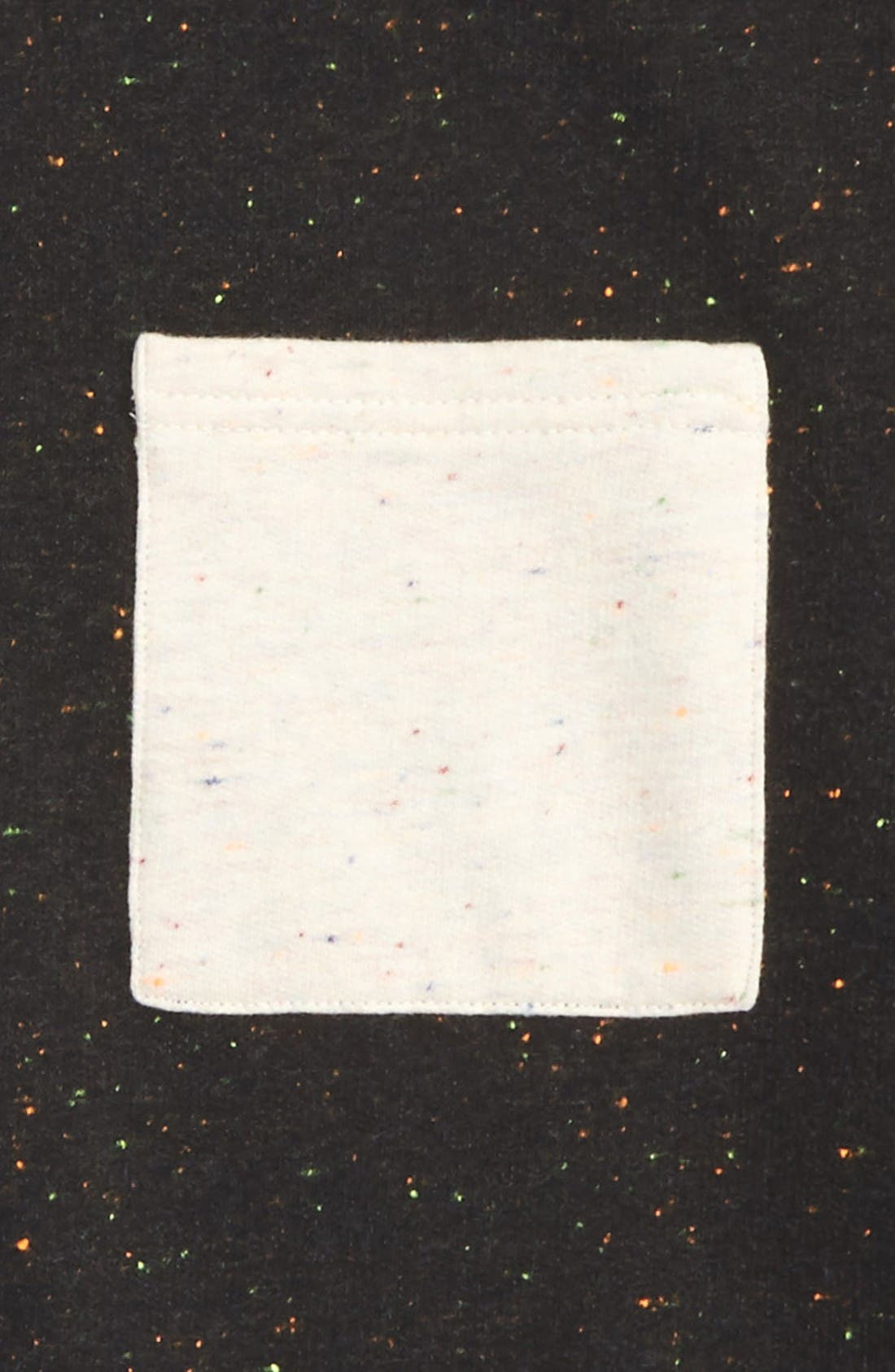 Nep Hoodie,                             Alternate thumbnail 2, color,                             Black Multi Neps