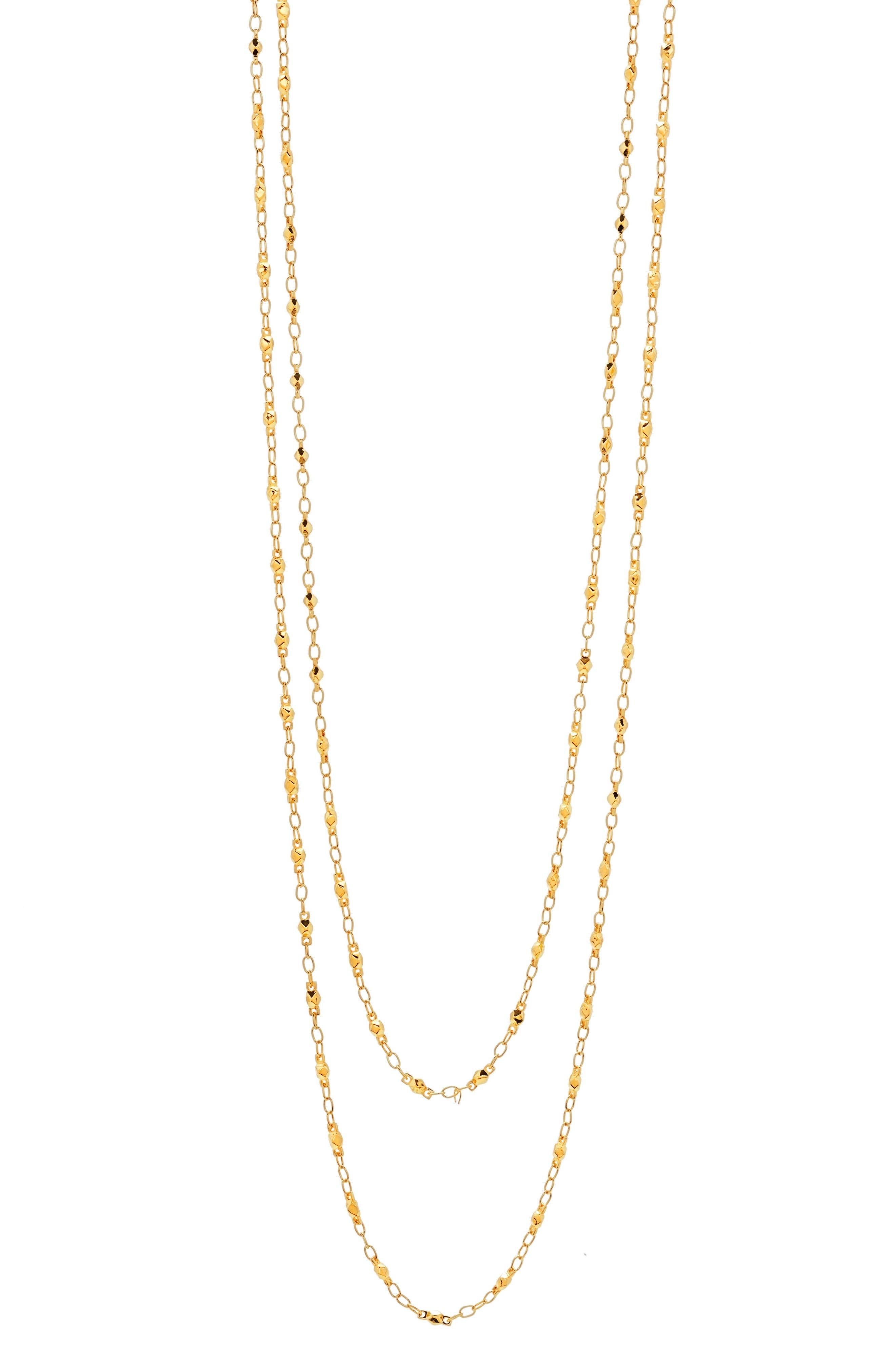 Alternate Image 2  - gorjana Multistrand Beaded Necklace