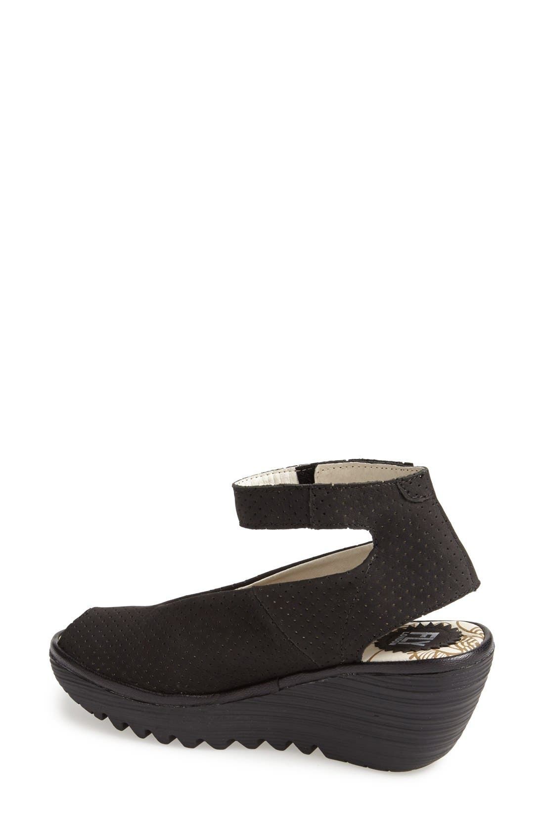 Alternate Image 2  - Fly London 'Yala' Perforated Leather Sandal