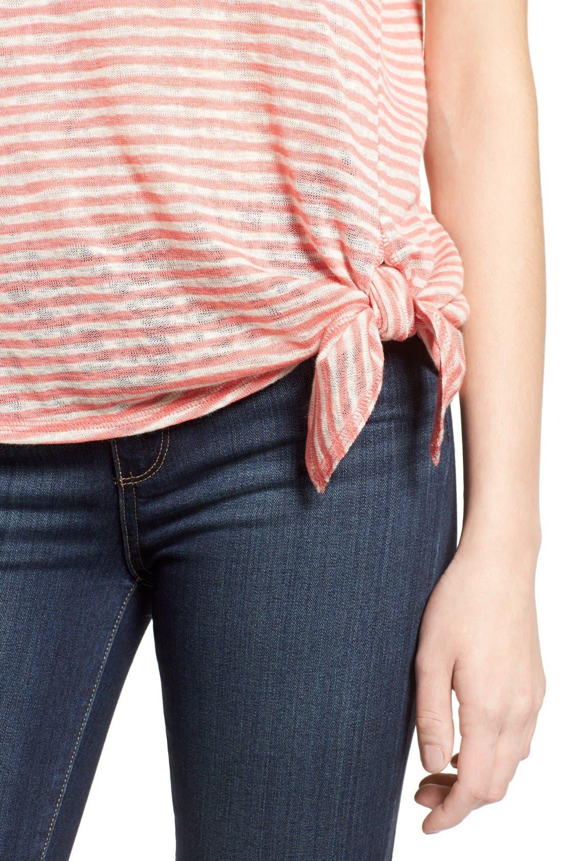 Alternate Image 4  - Bobeau Side Tie Top