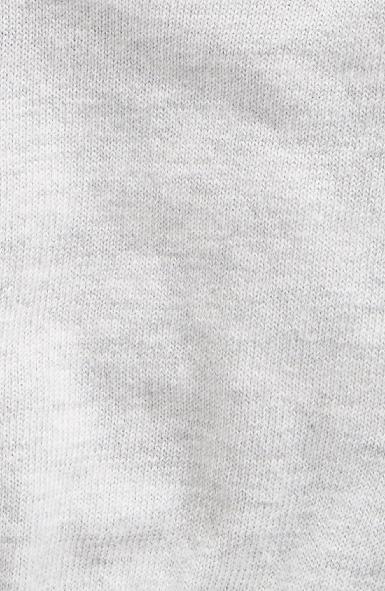 Alternate Image 2  - Armani Junior Colorblock Cardigan (Baby Boys)