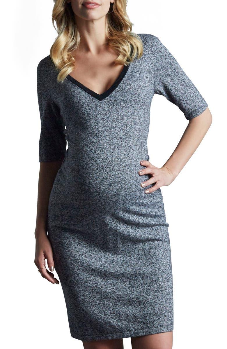 Daria M?lange Maternity Dress