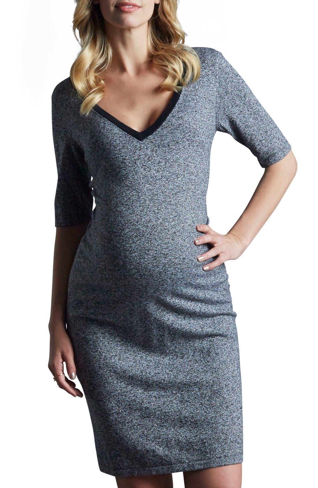Tart Maternity Daria Mélange Maternity Dress