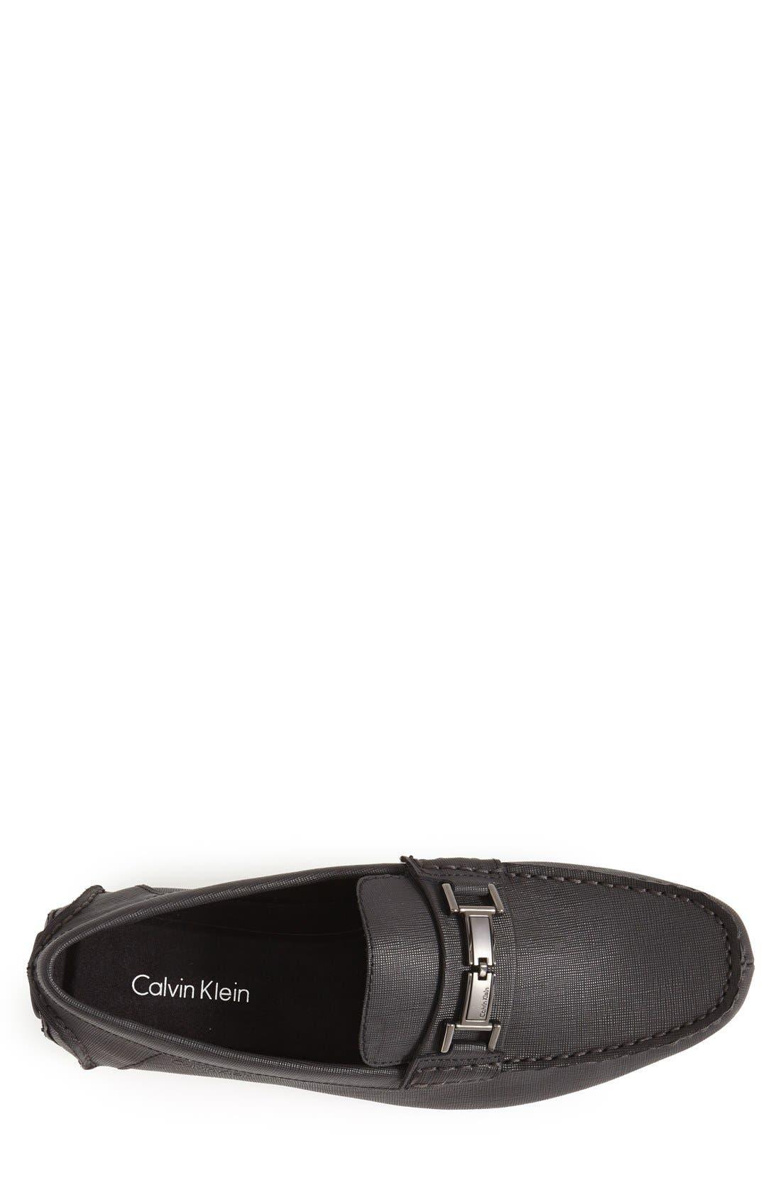 Magnus Driving Shoe,                             Alternate thumbnail 3, color,                             Black