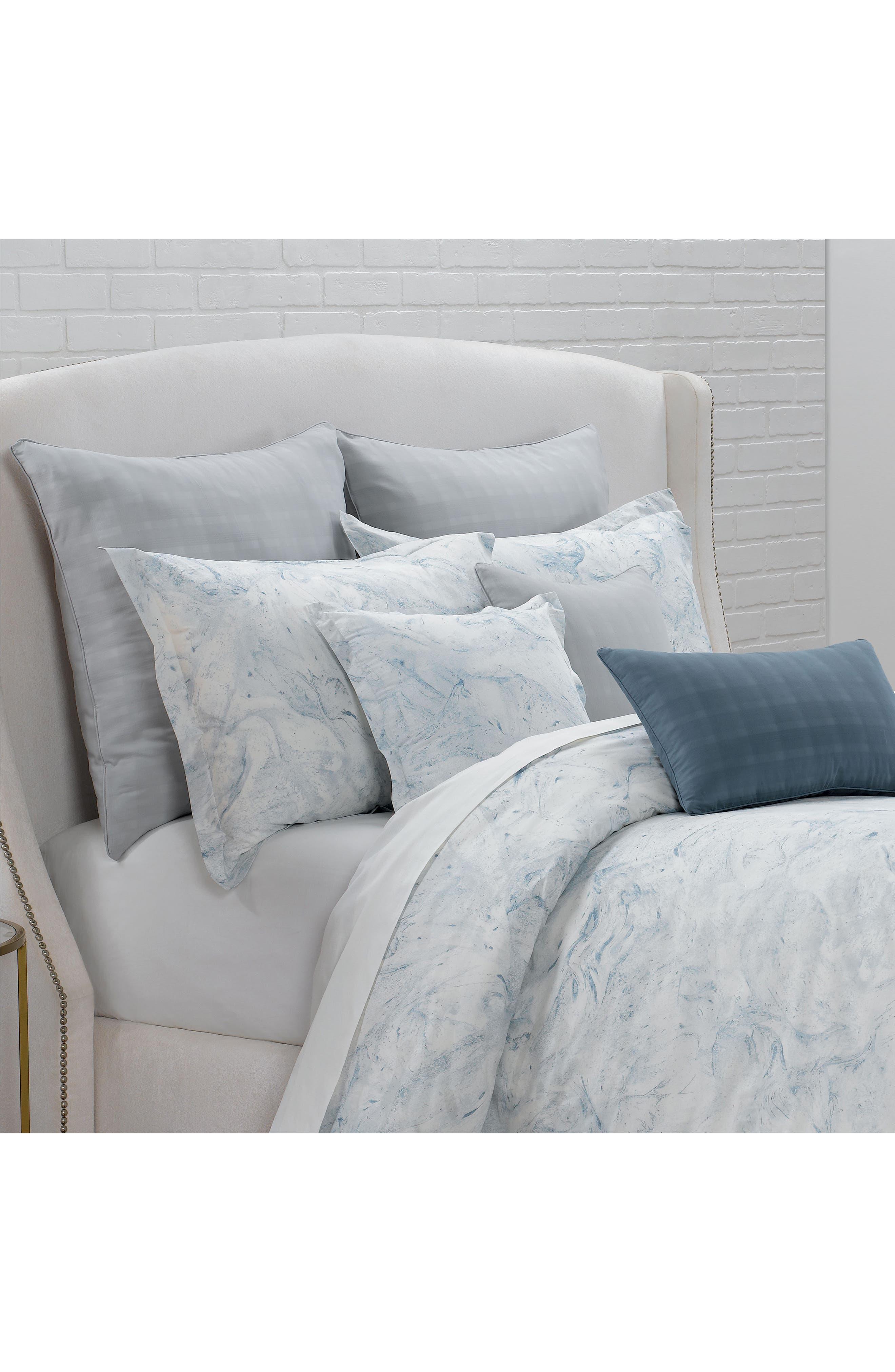 Alternate Image 2  - Portico Glacier Bay Square Organic Cotton Accent Pillow