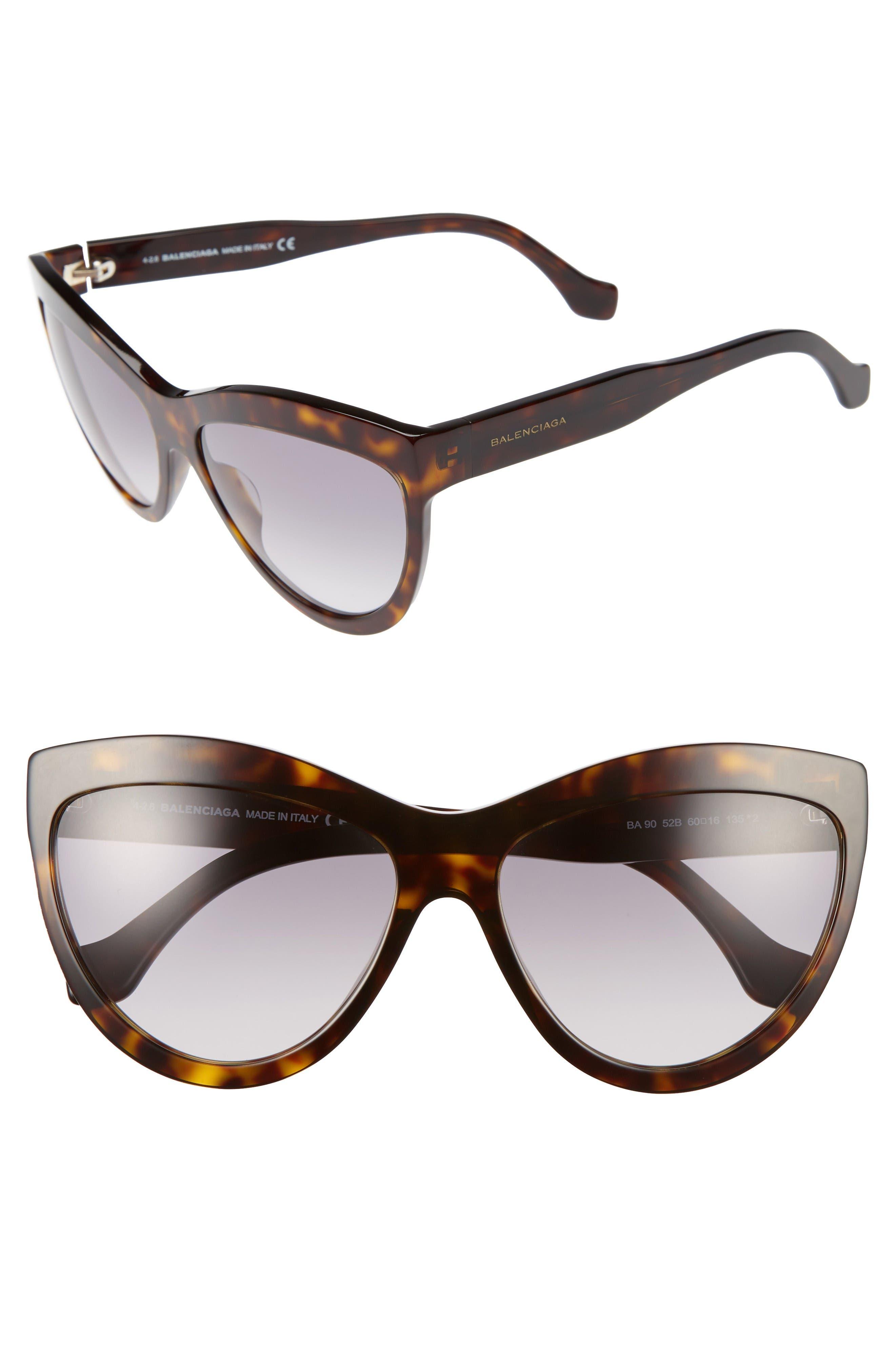 Alternate Image 1 Selected - Balenciaga 60mm Sunglasses