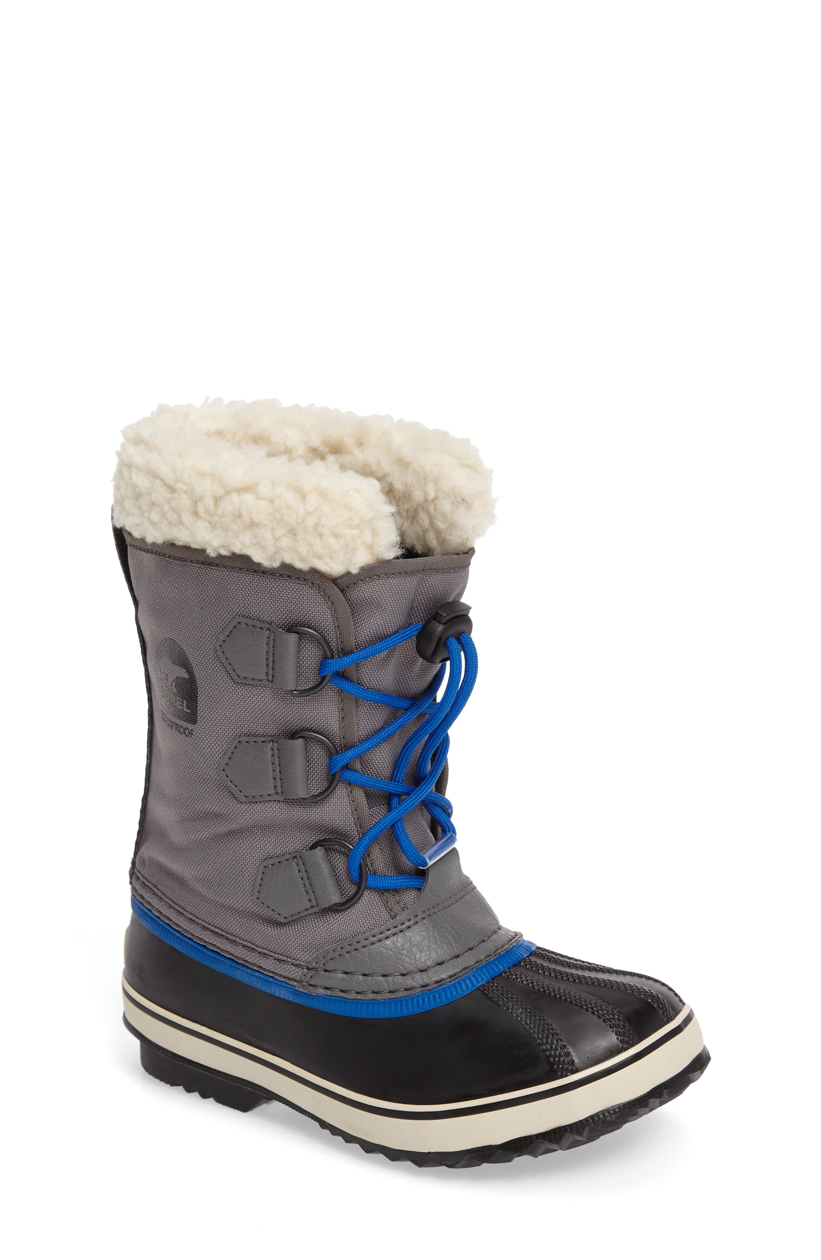 SOREL 'Yoot Pac' Waterproof Snow Boot (Toddler, Little Kid & Big Kid)