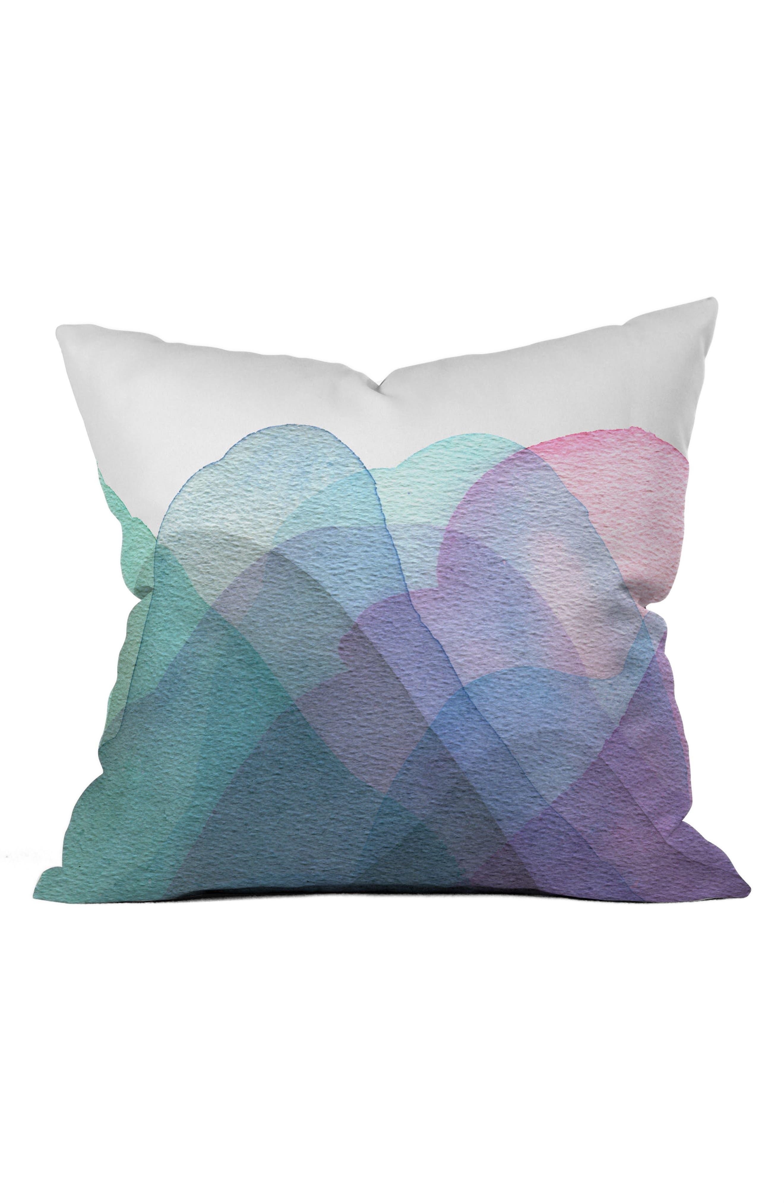 Main Image - Deny Designs Layers Pillow