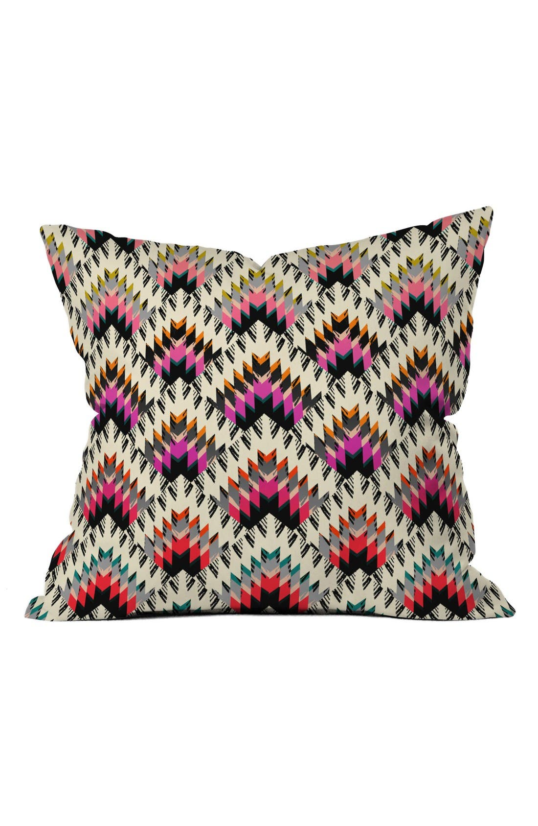 State Peaks Pillow,                         Main,                         color, Pink/ Multi