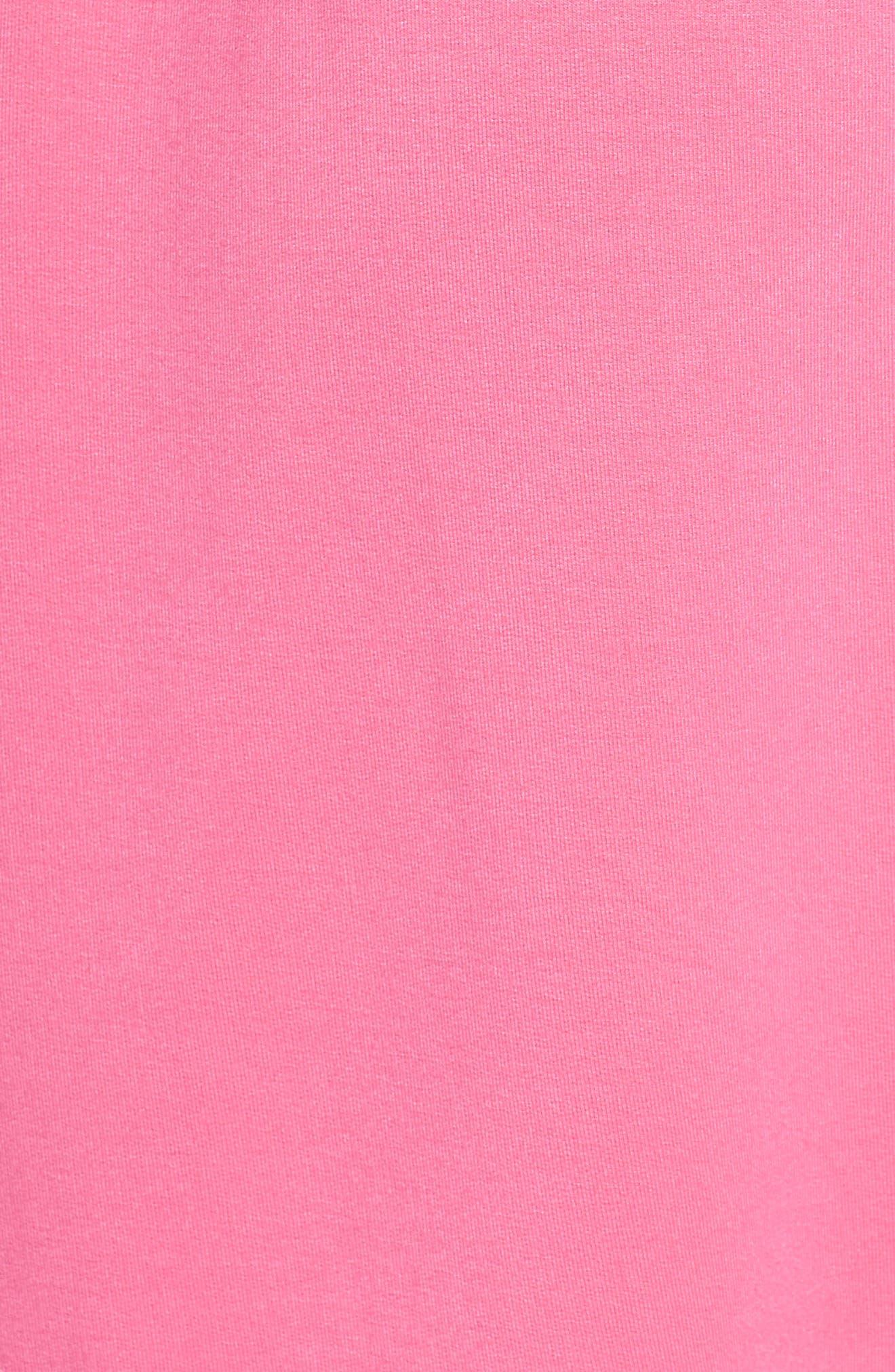 Alternate Image 5  - kate spade screenprint french terry robe