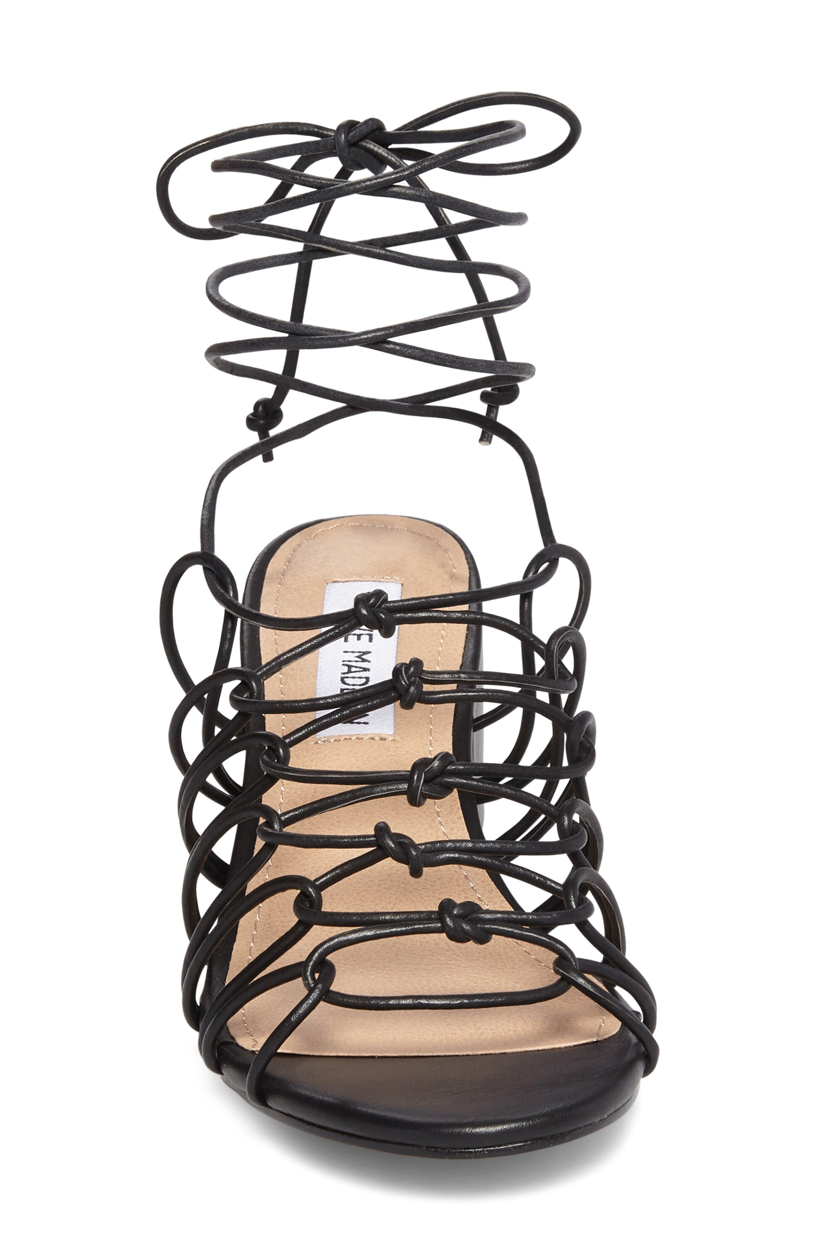 Alternate Image 3  - Steve Madden Illie Knotted Lace Sandal (Women)