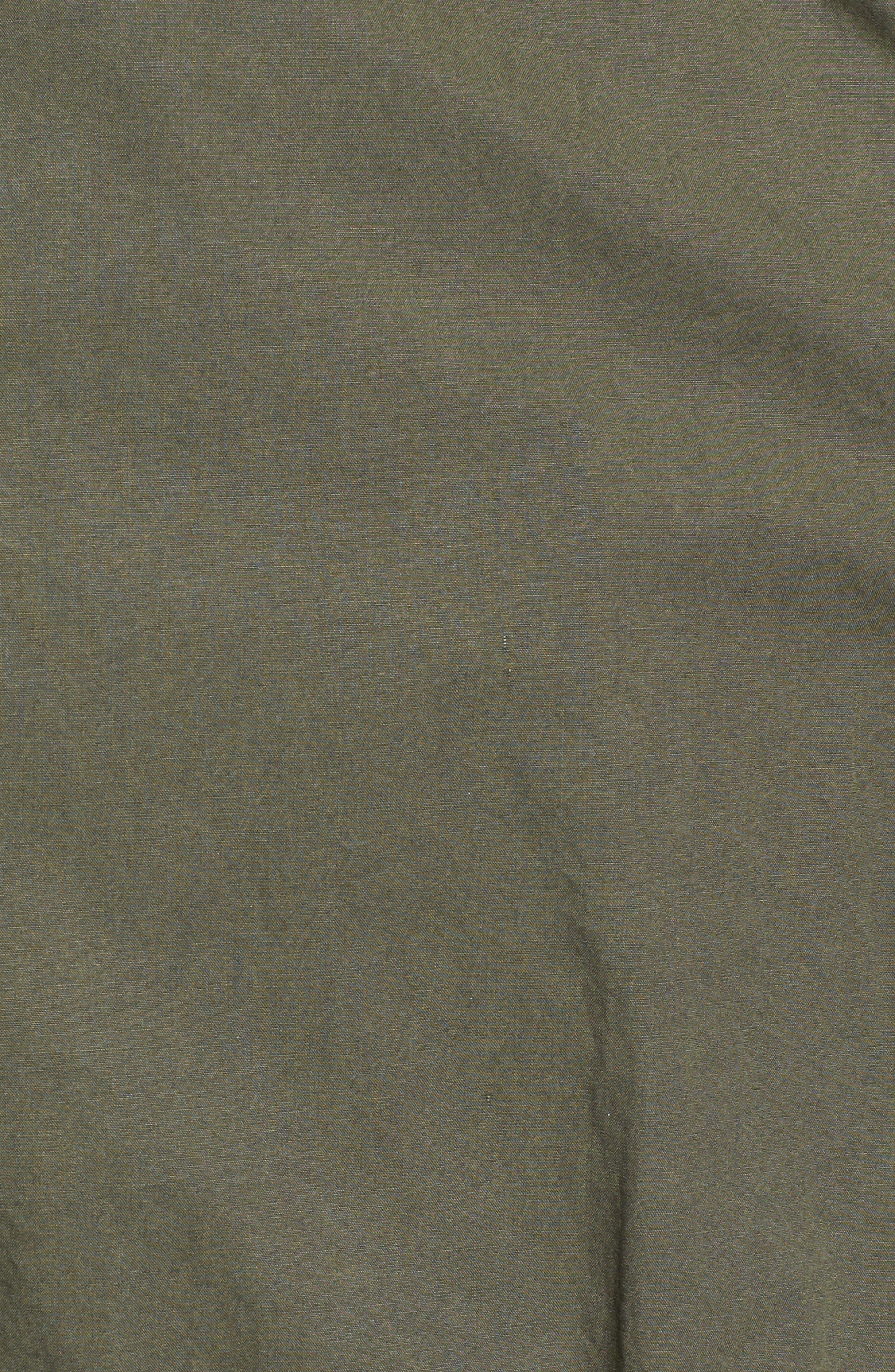 Levi's Parachute Cotton Vest,                             Alternate thumbnail 6, color,                             Army Green