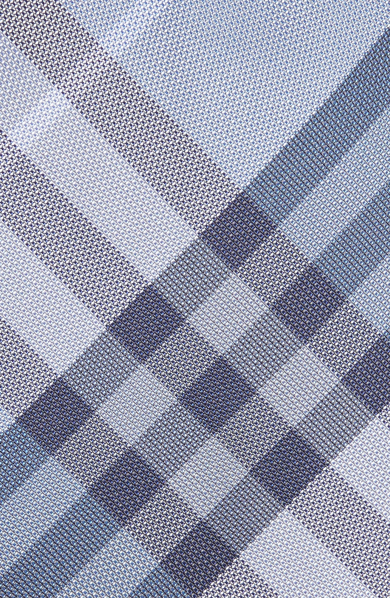 Alternate Image 2  - Burberry Clinton Check Silk Tie