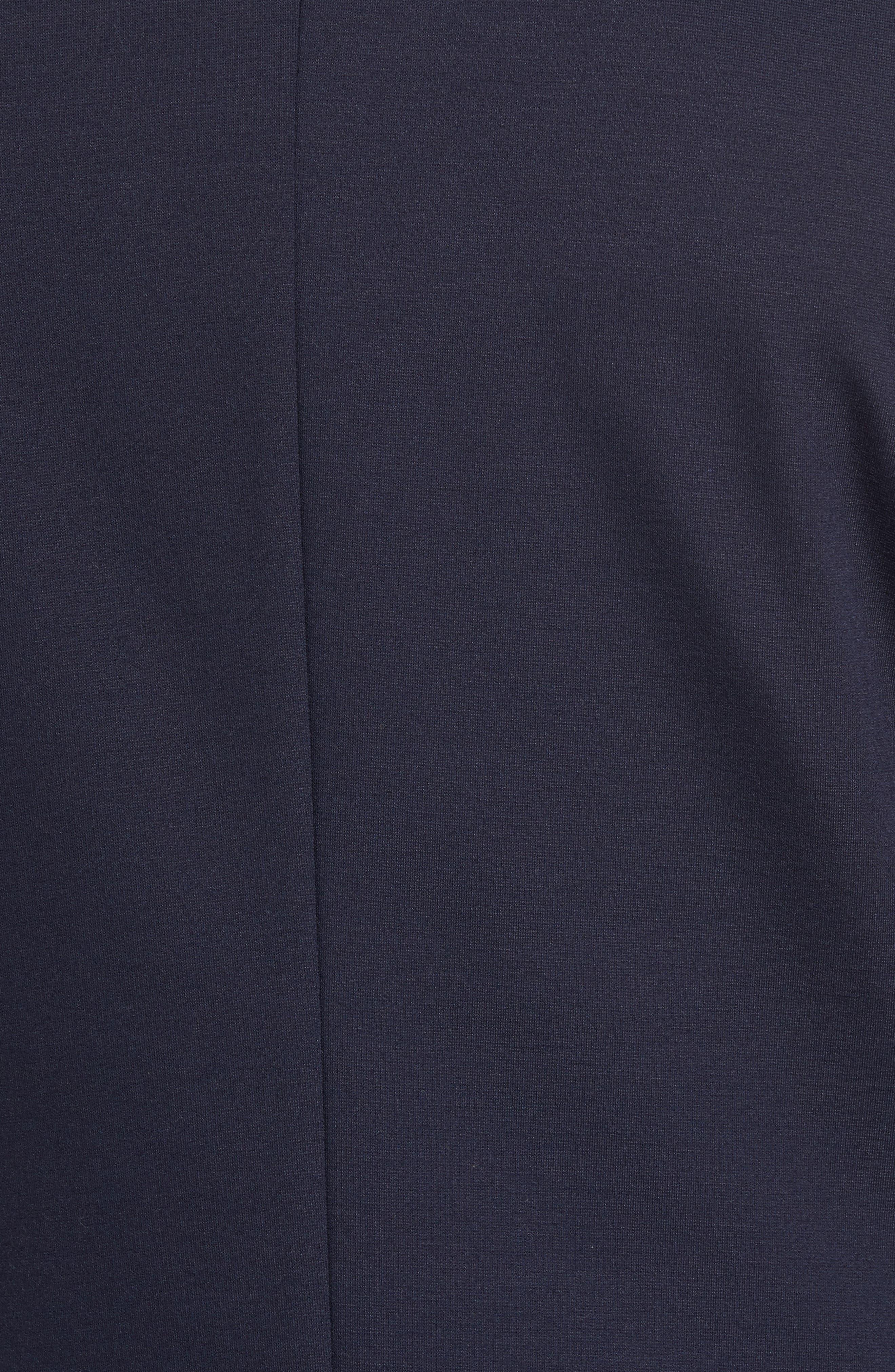 Norwin Trim Fit Stretch Blazer,                             Alternate thumbnail 5, color,                             Dark Blue