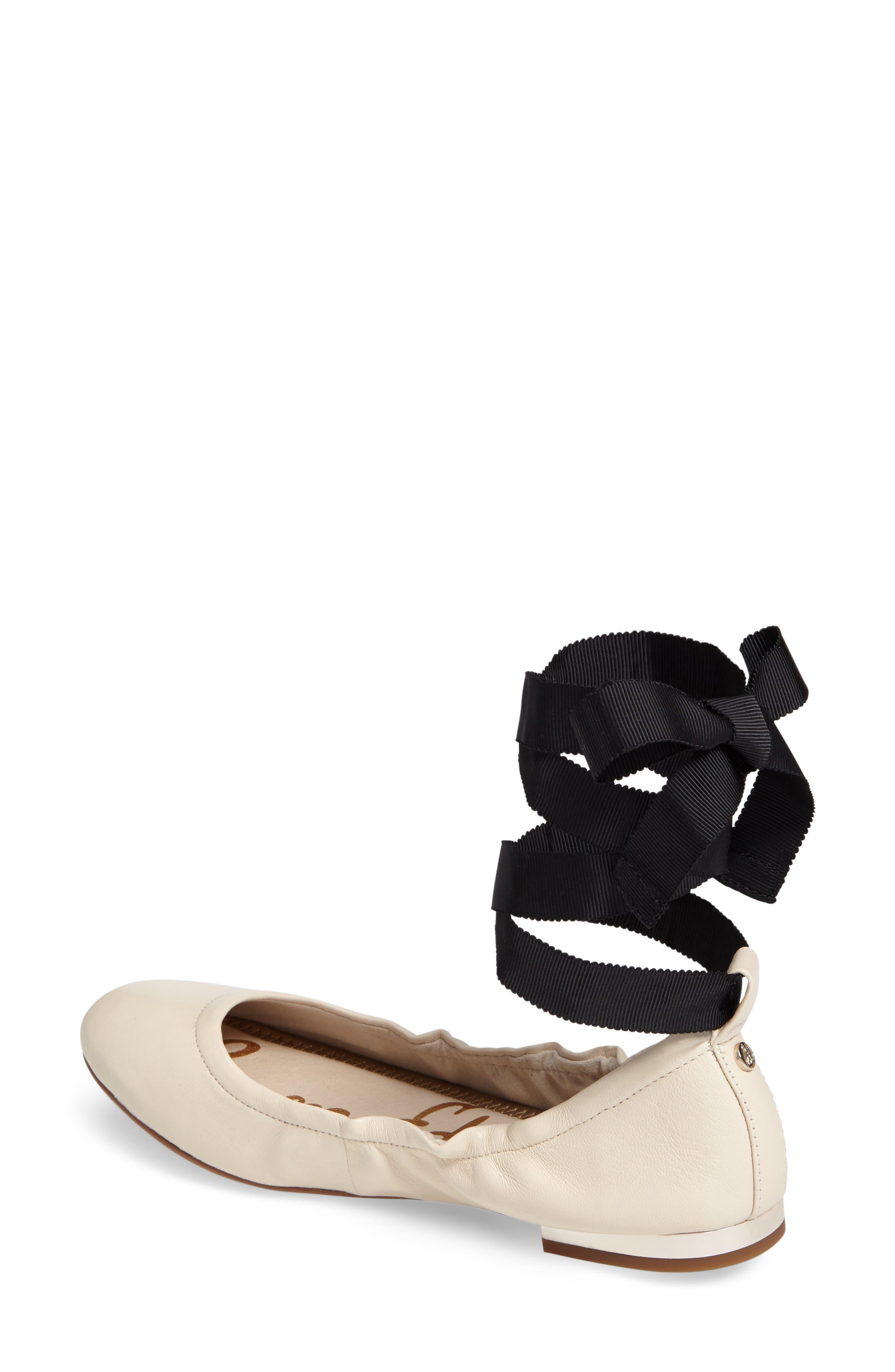 Alternate Image 2  - Sam Edelman Fallon Wraparound Tie Flat (Women)