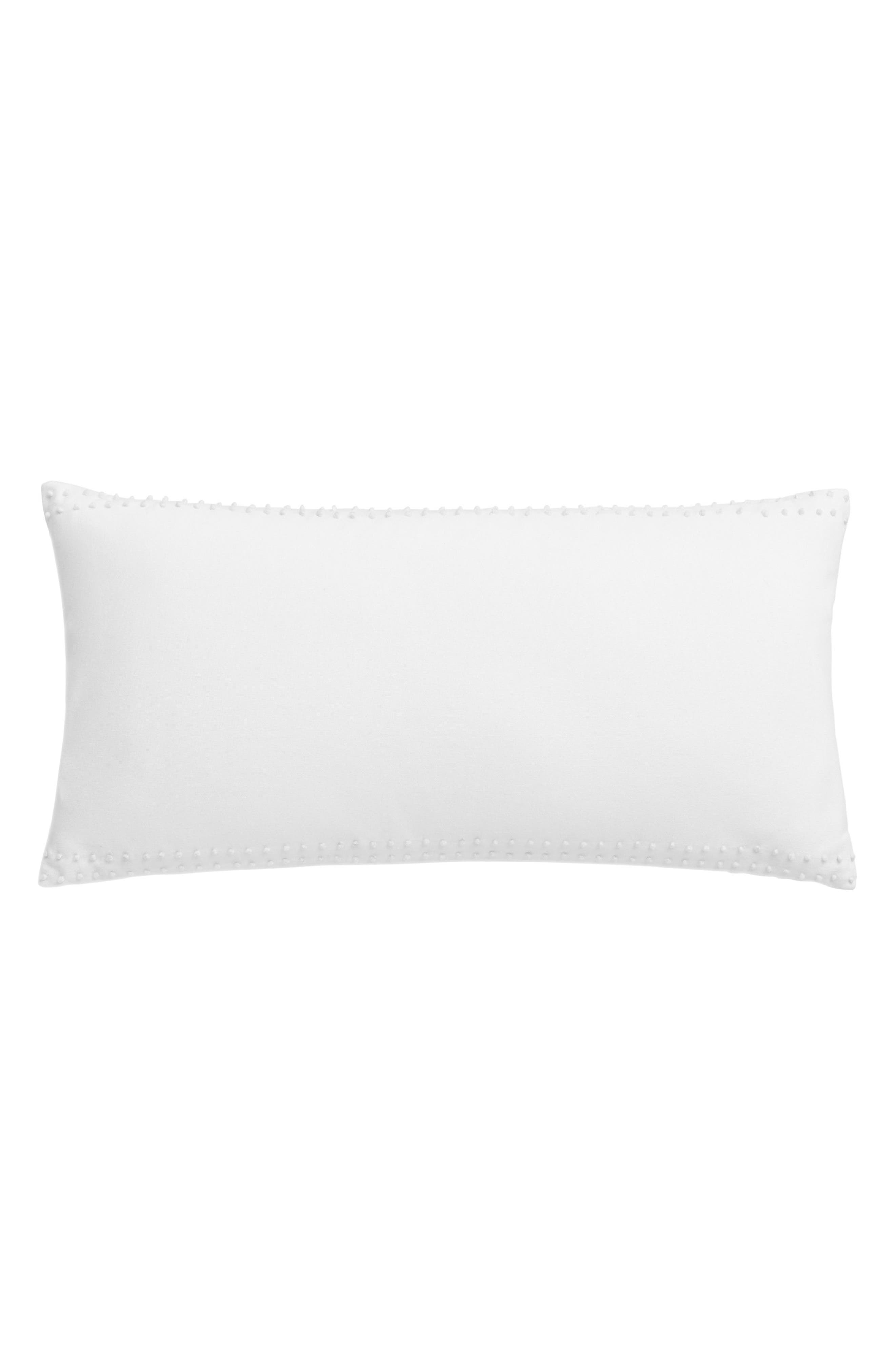 Blackpoint Hex Pillow,                         Main,                         color, White