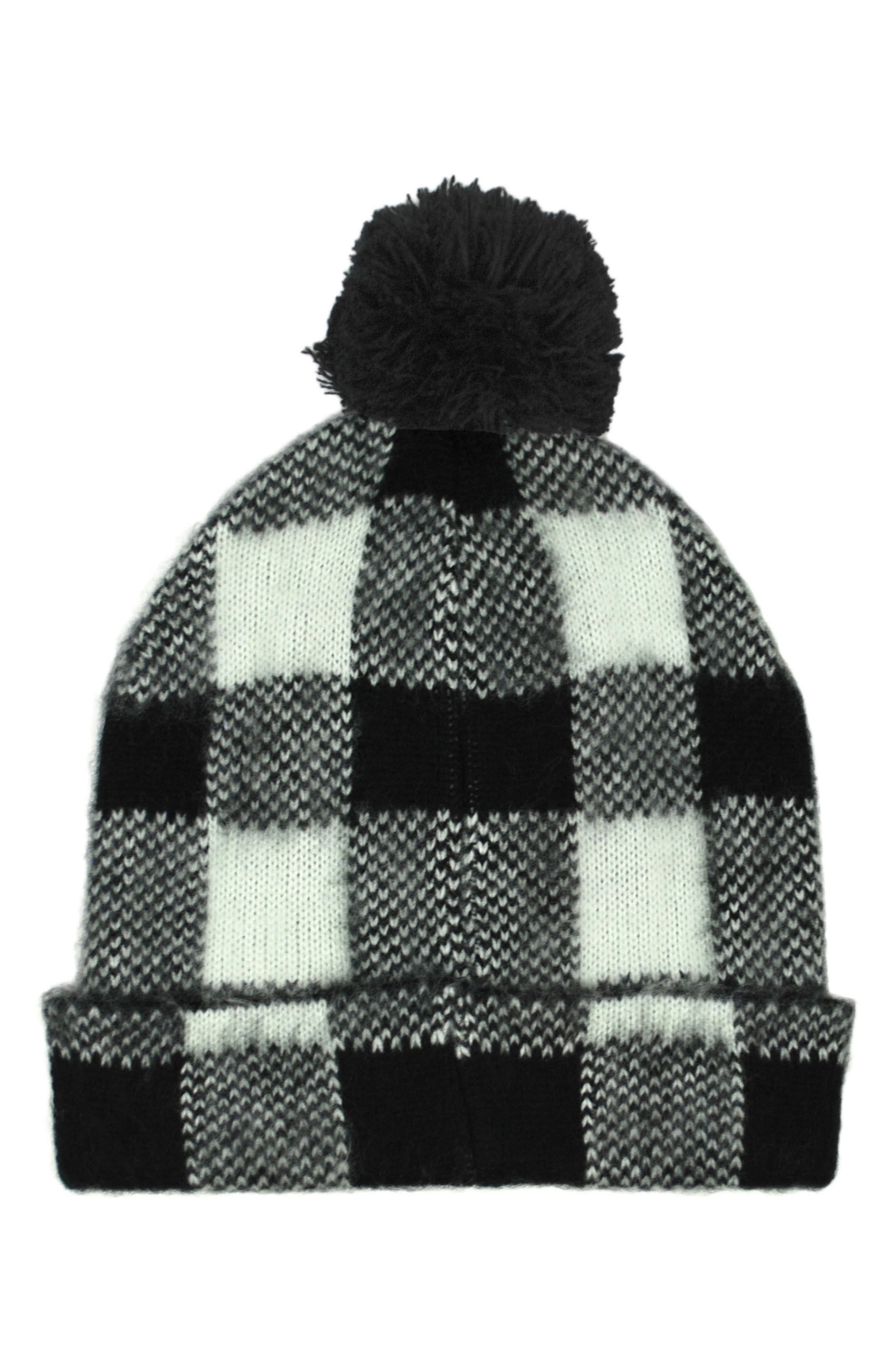 Alternate Image 1 Selected - Michael Stars Buffalo Check Beanie