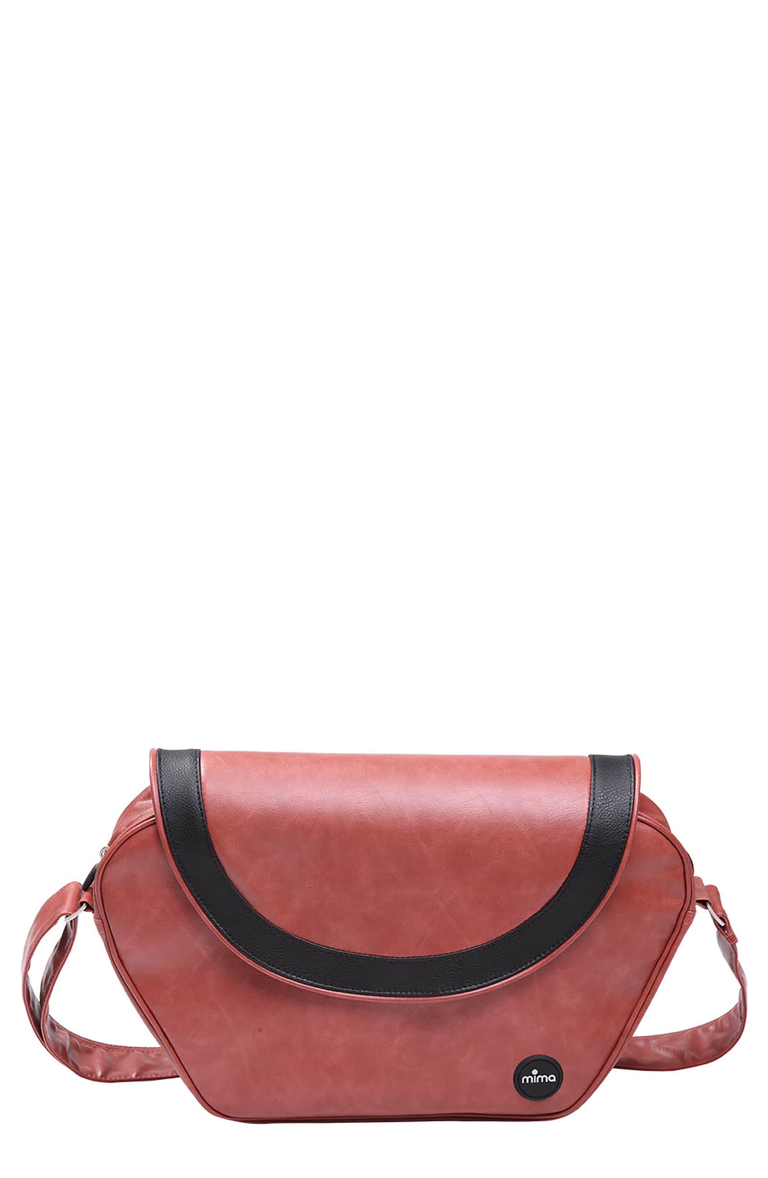 Main Image - Mima Trendy Faux Leather Diaper Bag