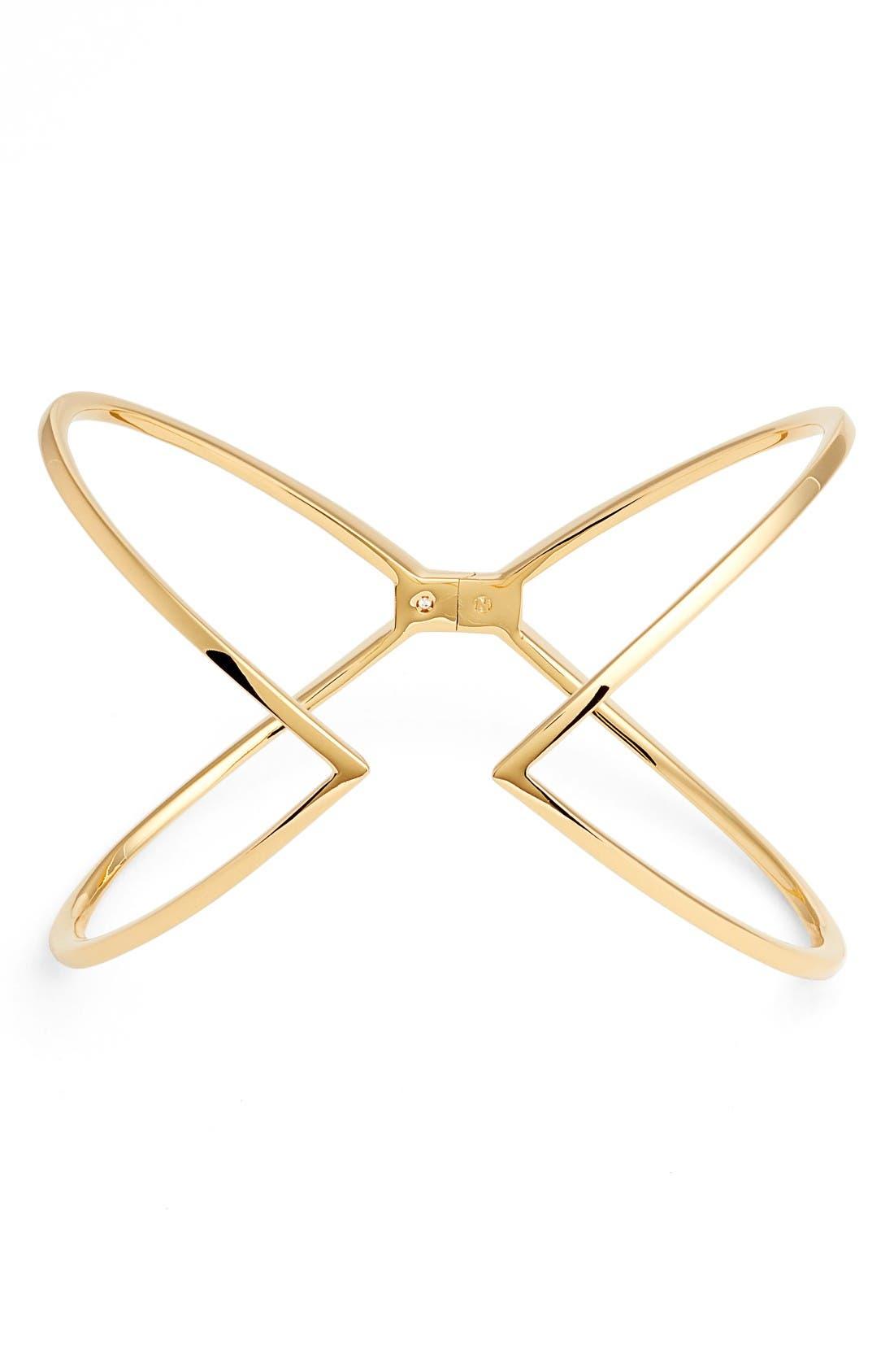 NADRI Open X Hinge Bracelet