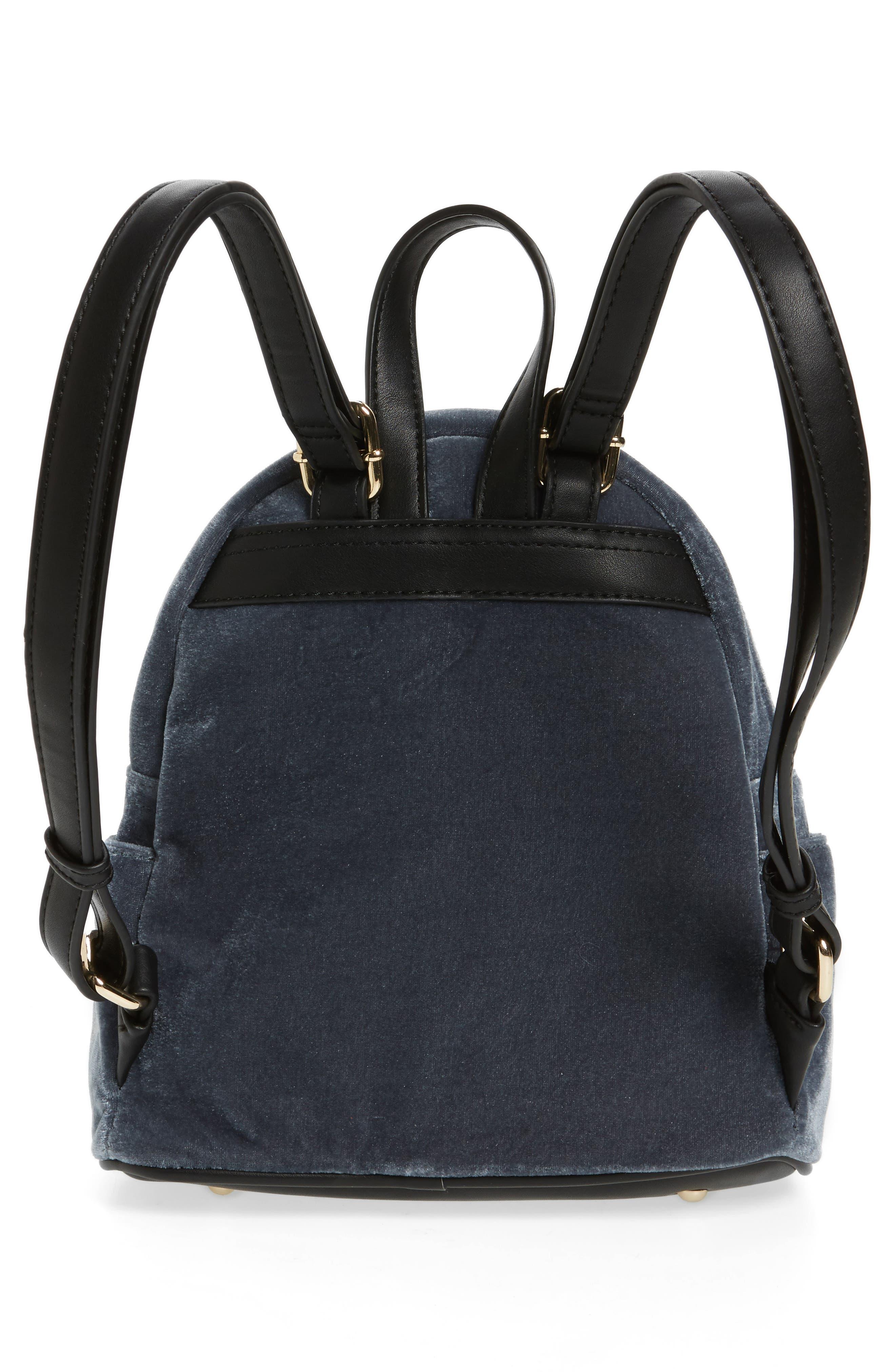 Alternate Image 3  - BP. Mini Velvet Backpack