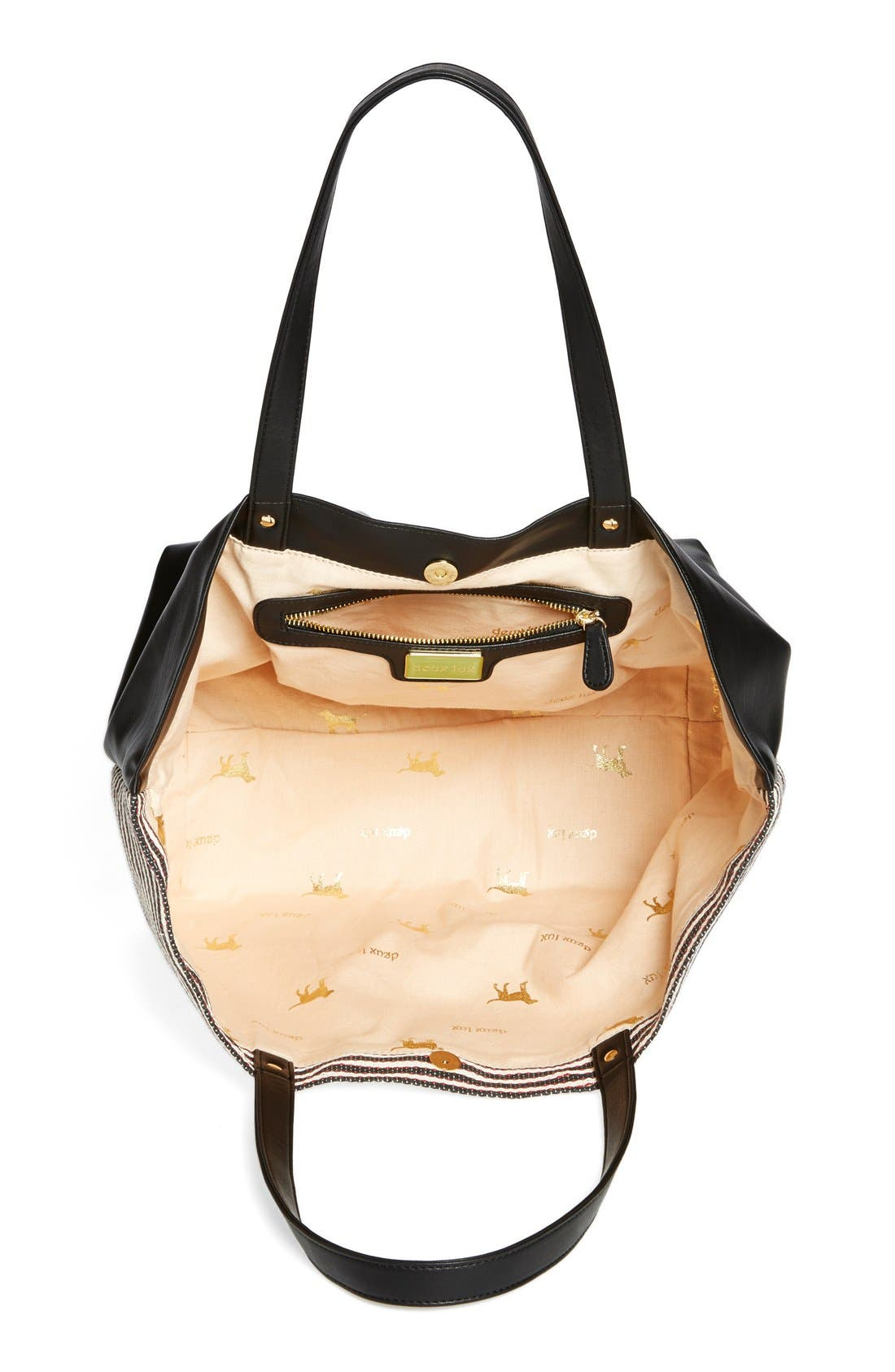Alternate Image 3  - Deux Lux 'Ravello' Crystal Embellished Tote