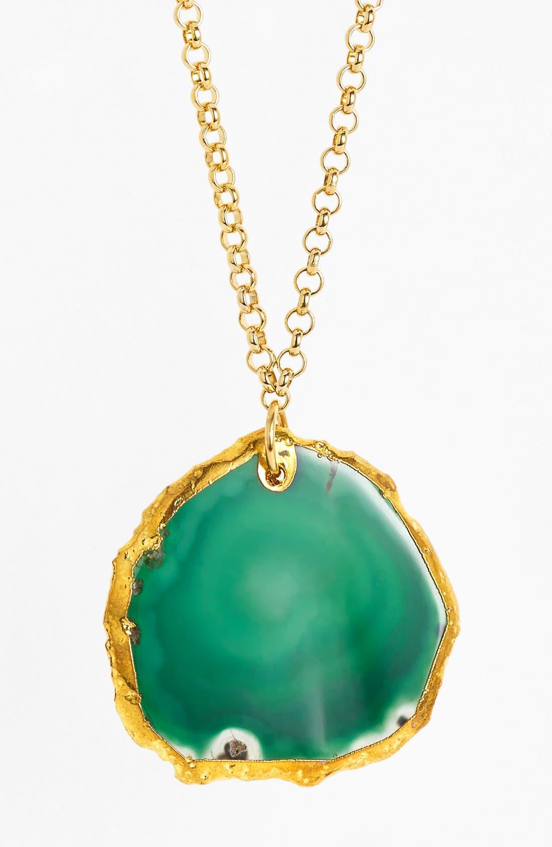 Alternate Image 2  - Nordstrom 'Sorcerer's Stone' Long Pendant Necklace