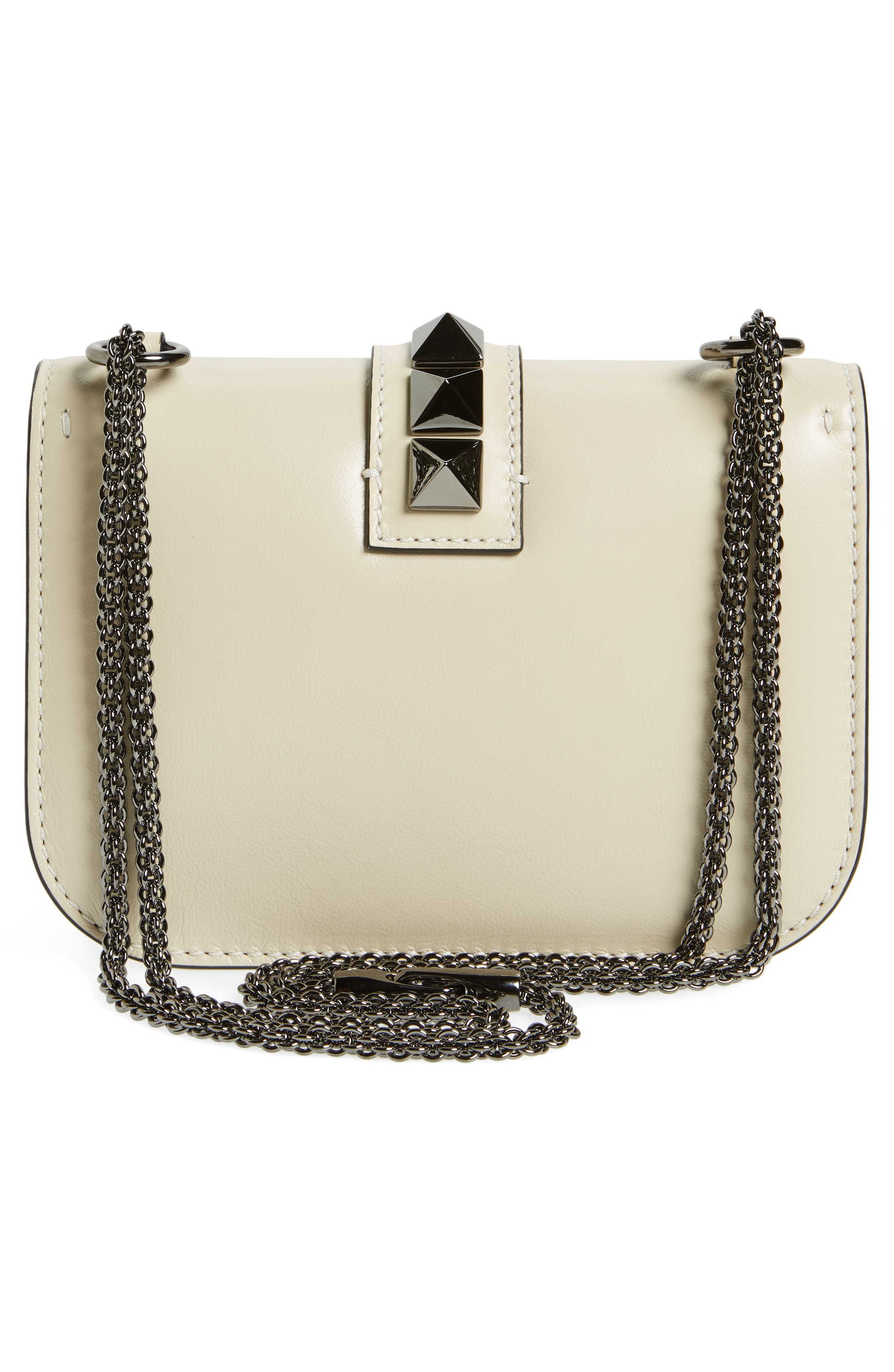 Alternate Image 3  - VALENTINO GARAVANI Small Rockstud Leather Shoulder Bag