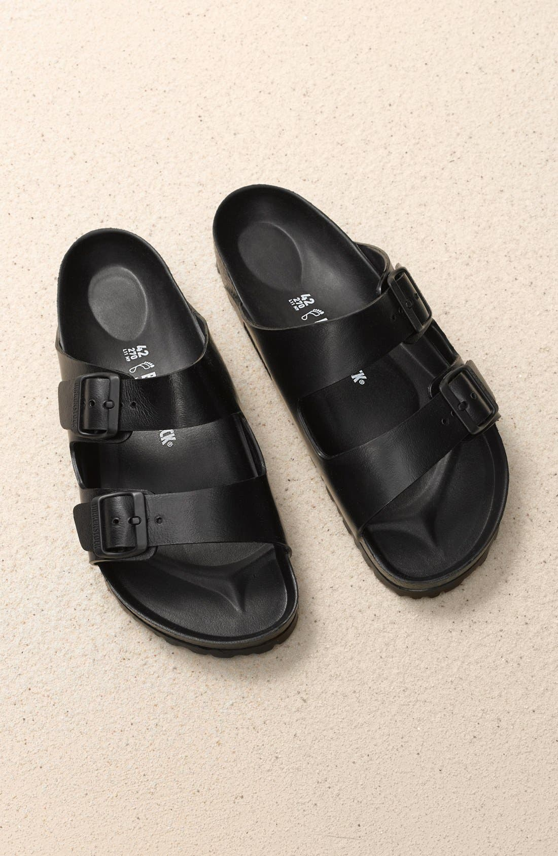 Alternate Image 8  - Birkenstock 'Essentials - Arizona EVA' Waterproof Slide Sandal (Men)