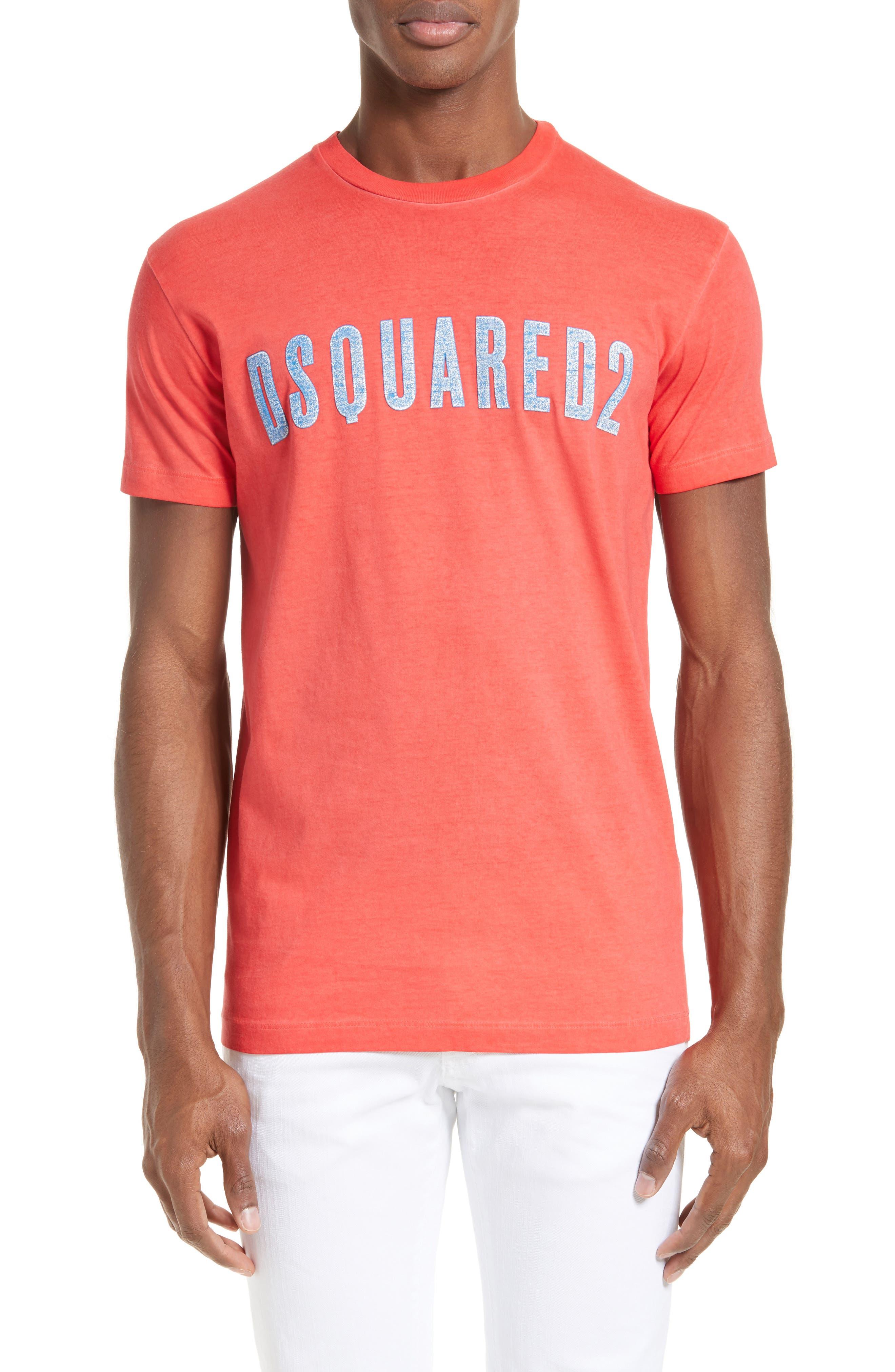Alternate Image 1 Selected - Dsquared2 Crackle Logo T-Shirt