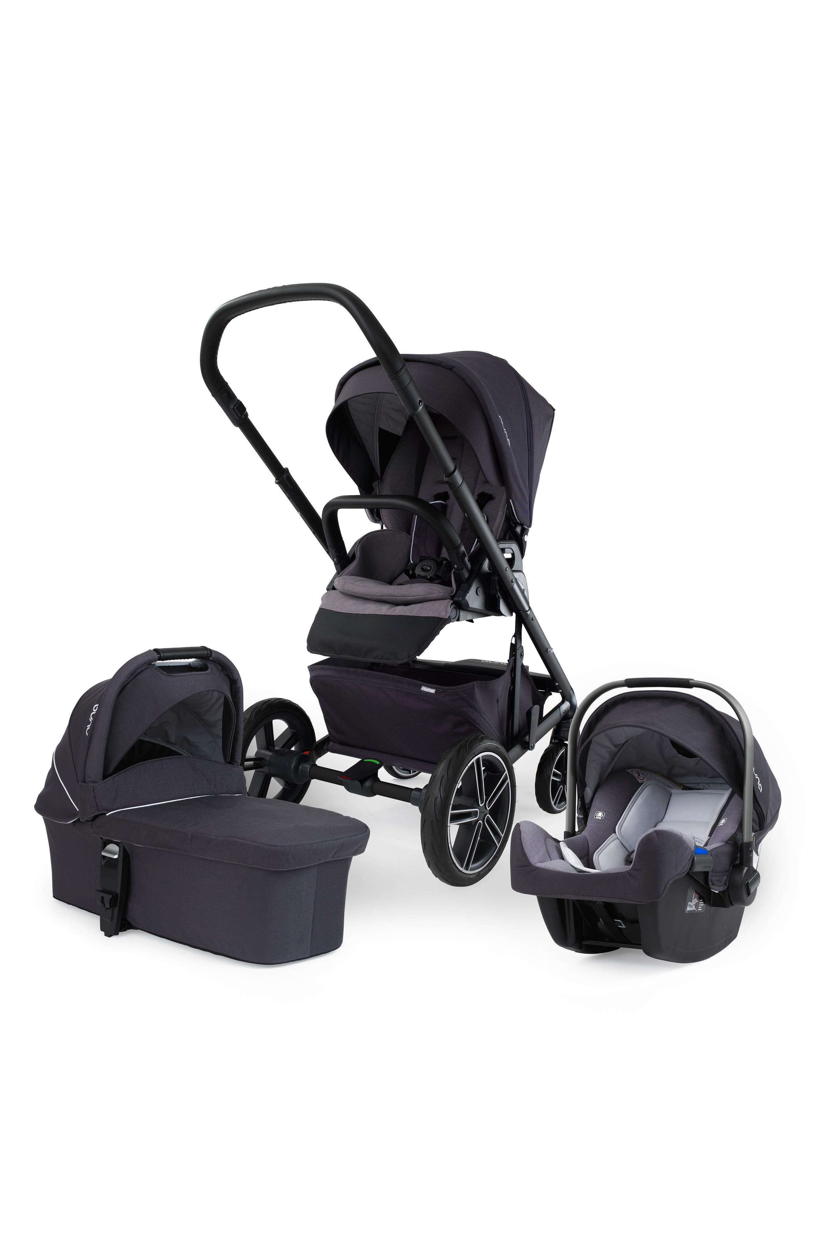 Alternate Image 1 Selected - nuna MIXX™ Stroller System & PIPA™ Car Seat Set