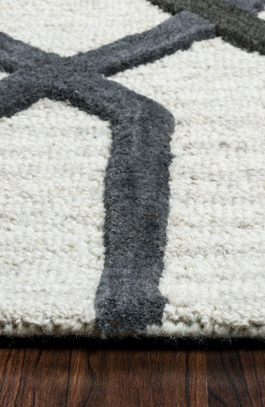 Alternate Image 3  - Rizzy Home 'Caterine Lines' Hand Tufted Wool Area Rug