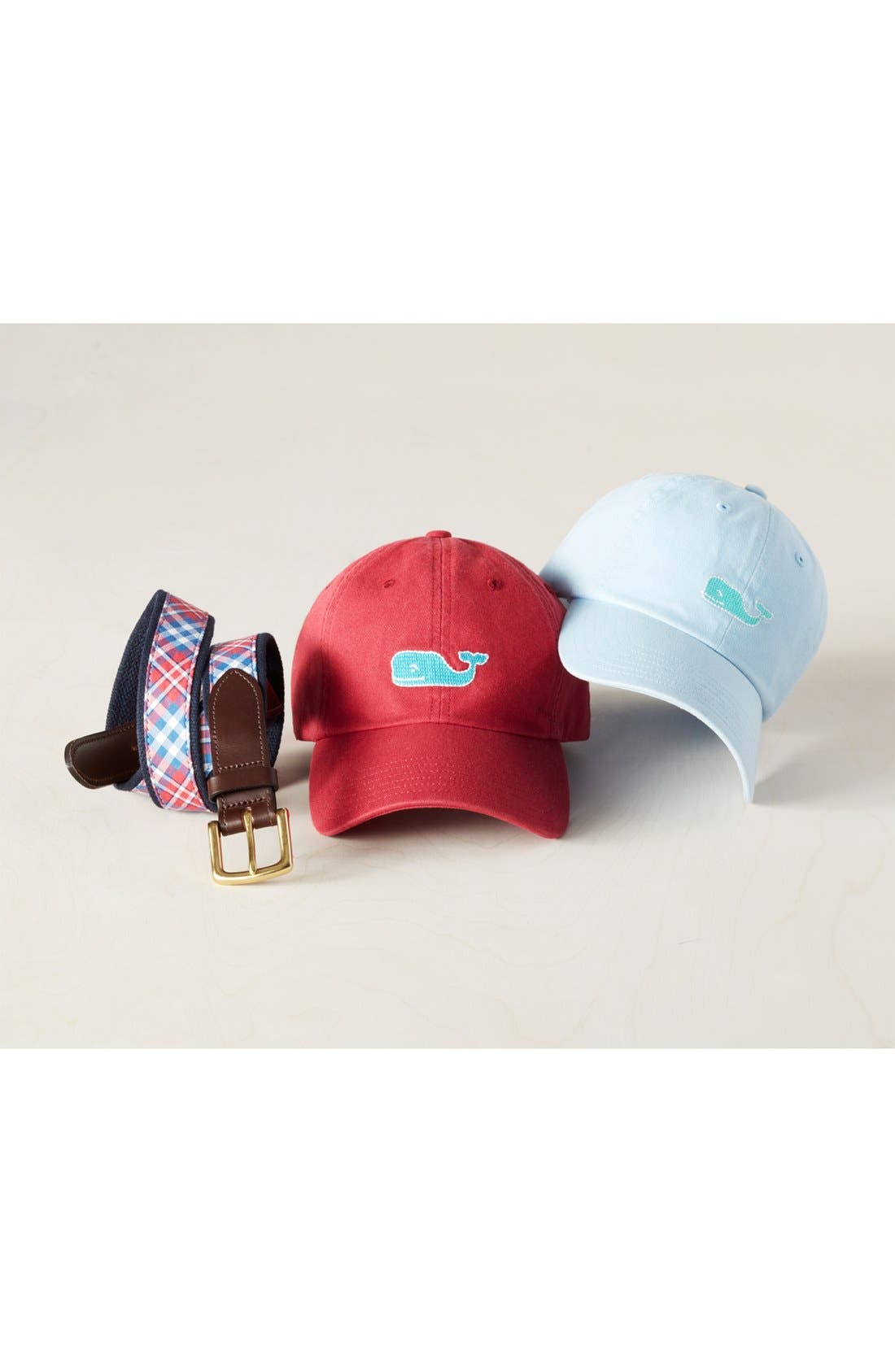 Alternate Image 3  - Vineyard Vines Needlepoint Whale Baseball Cap