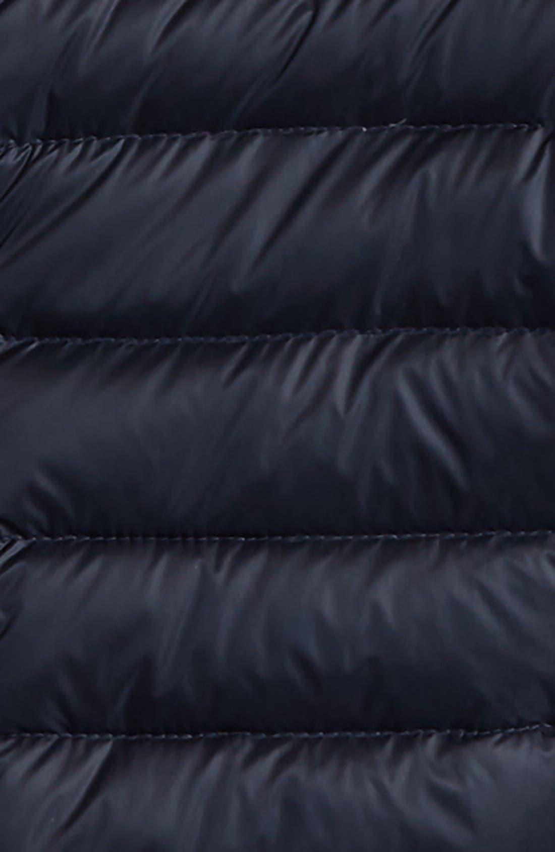 Ambrine Water Resistant Down Jacket,                             Alternate thumbnail 2, color,                             Navy