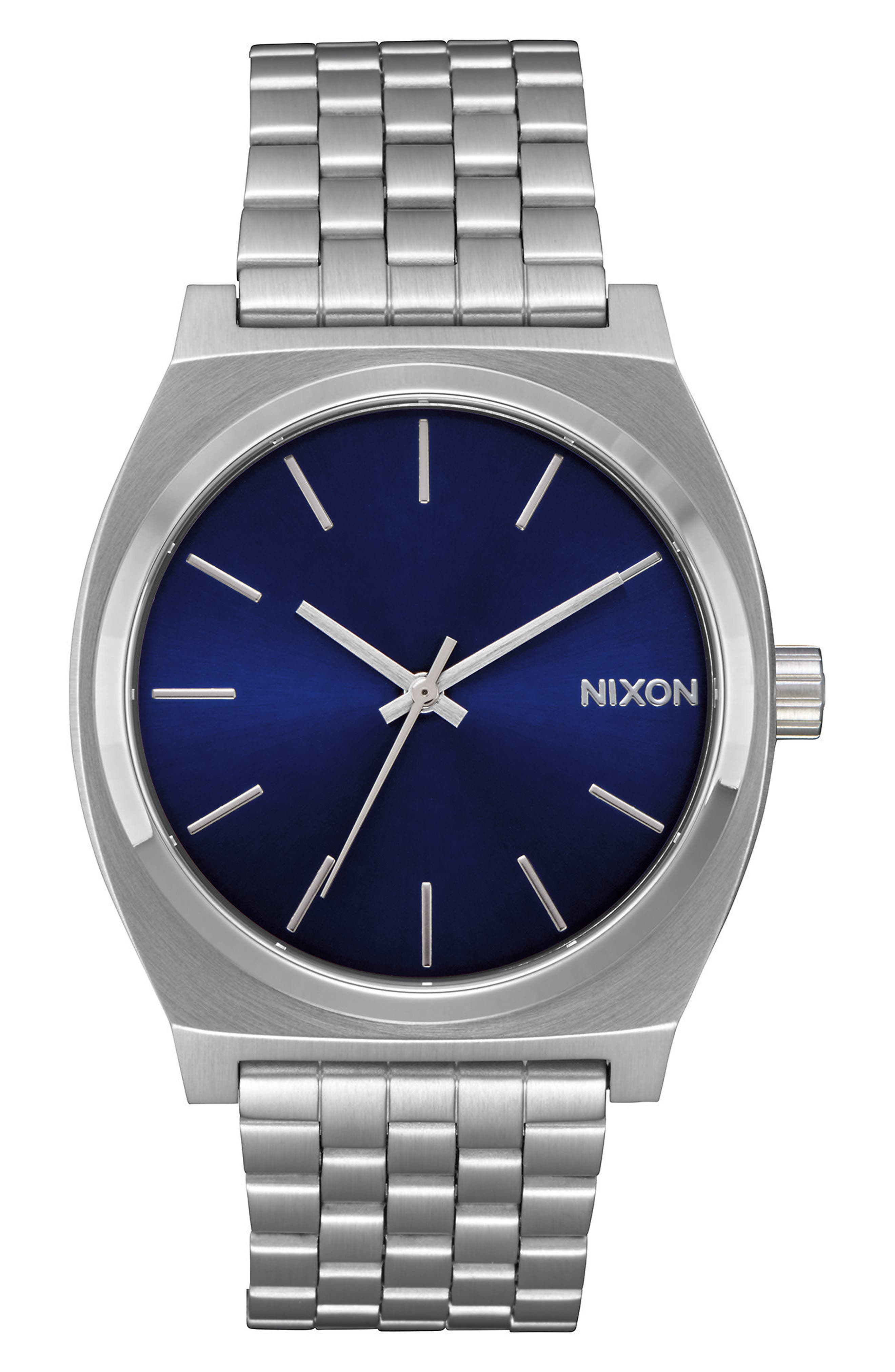 Alternate Image 1 Selected - Nixon The Time Teller Bracelet Watch, 37mm